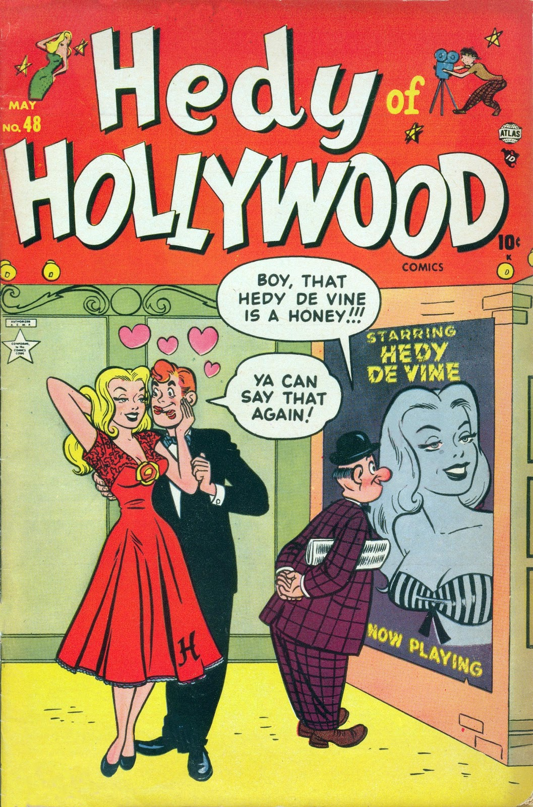 Hedy Of Hollywood Comics 48 Page 1