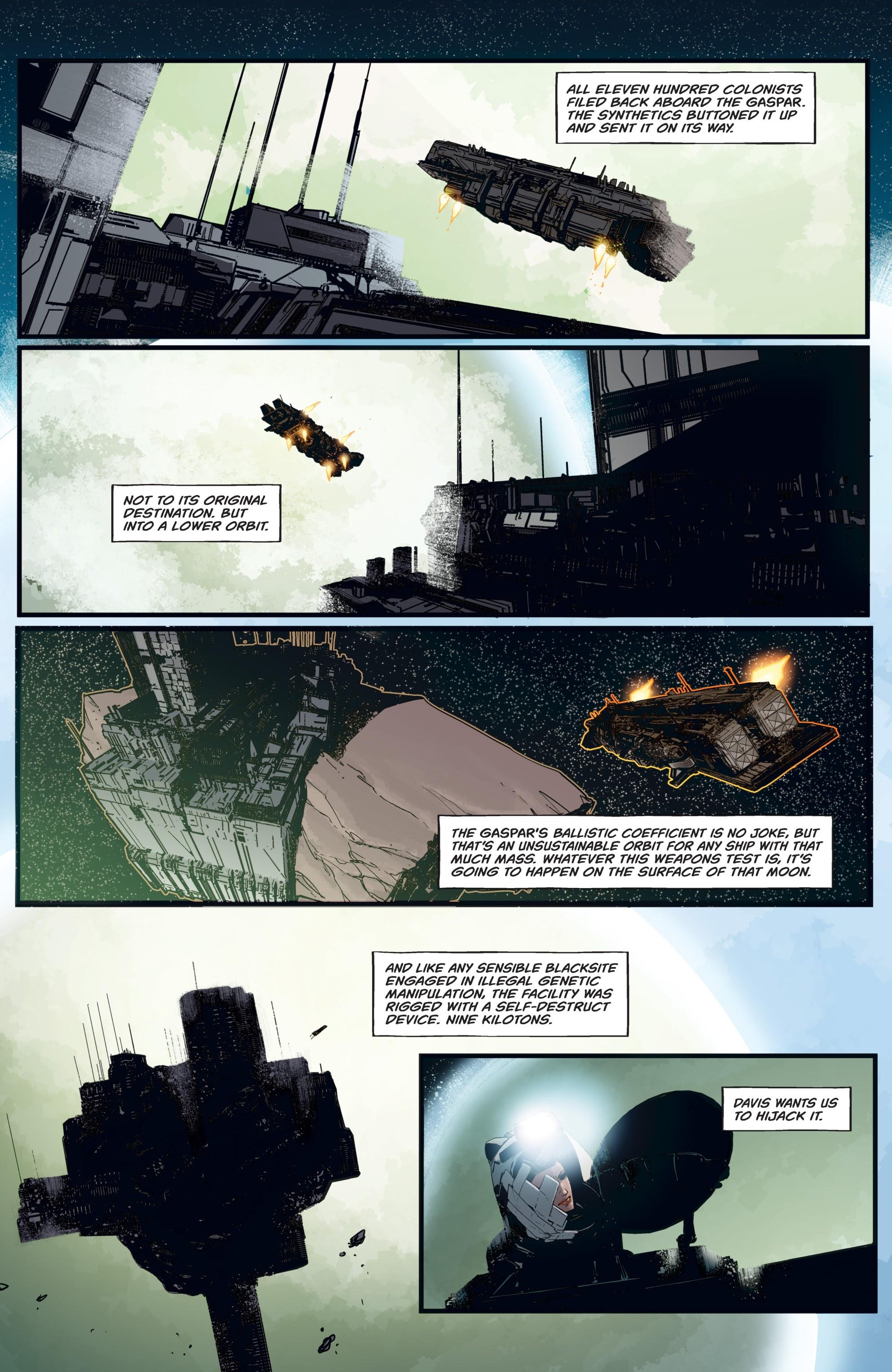 Read online Aliens: Resistance comic -  Issue # _TPB - 41