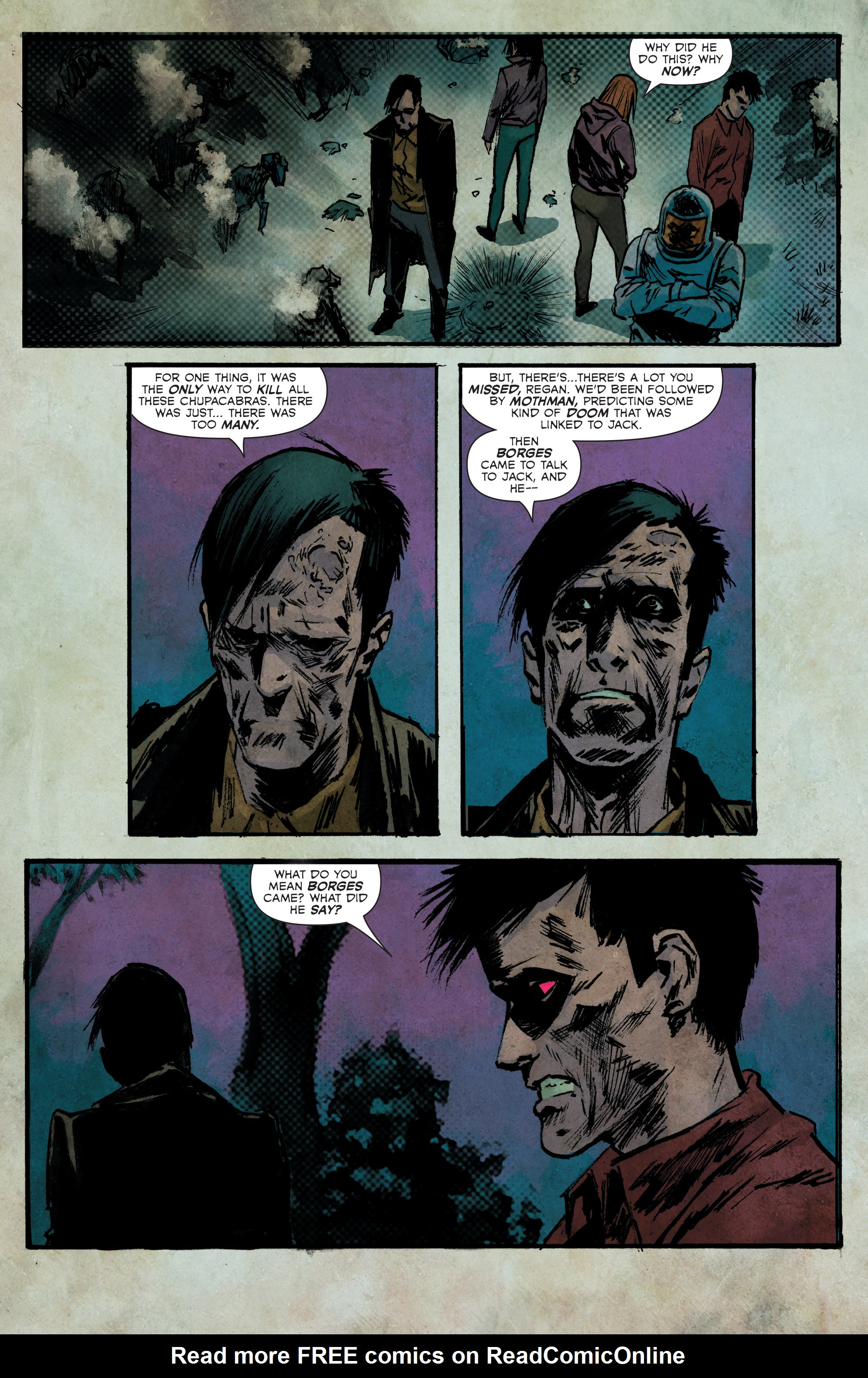 Read online Hoax Hunters (2012) comic -  Issue # TPB 3 - 95