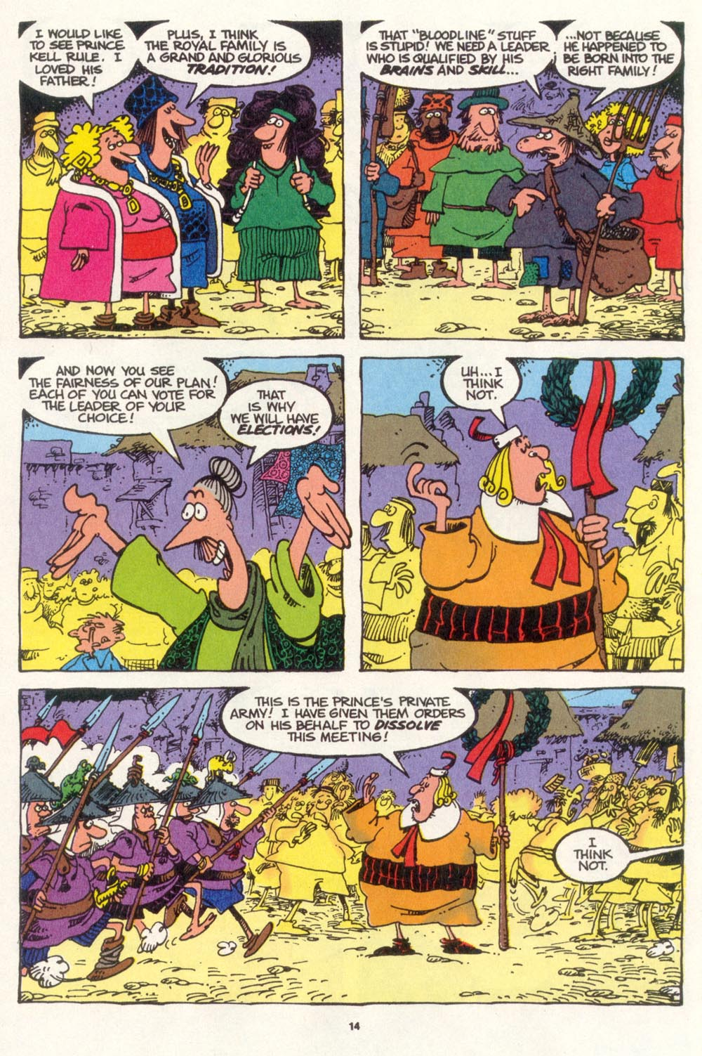 Read online Sergio Aragonés Groo the Wanderer comic -  Issue #108 - 16