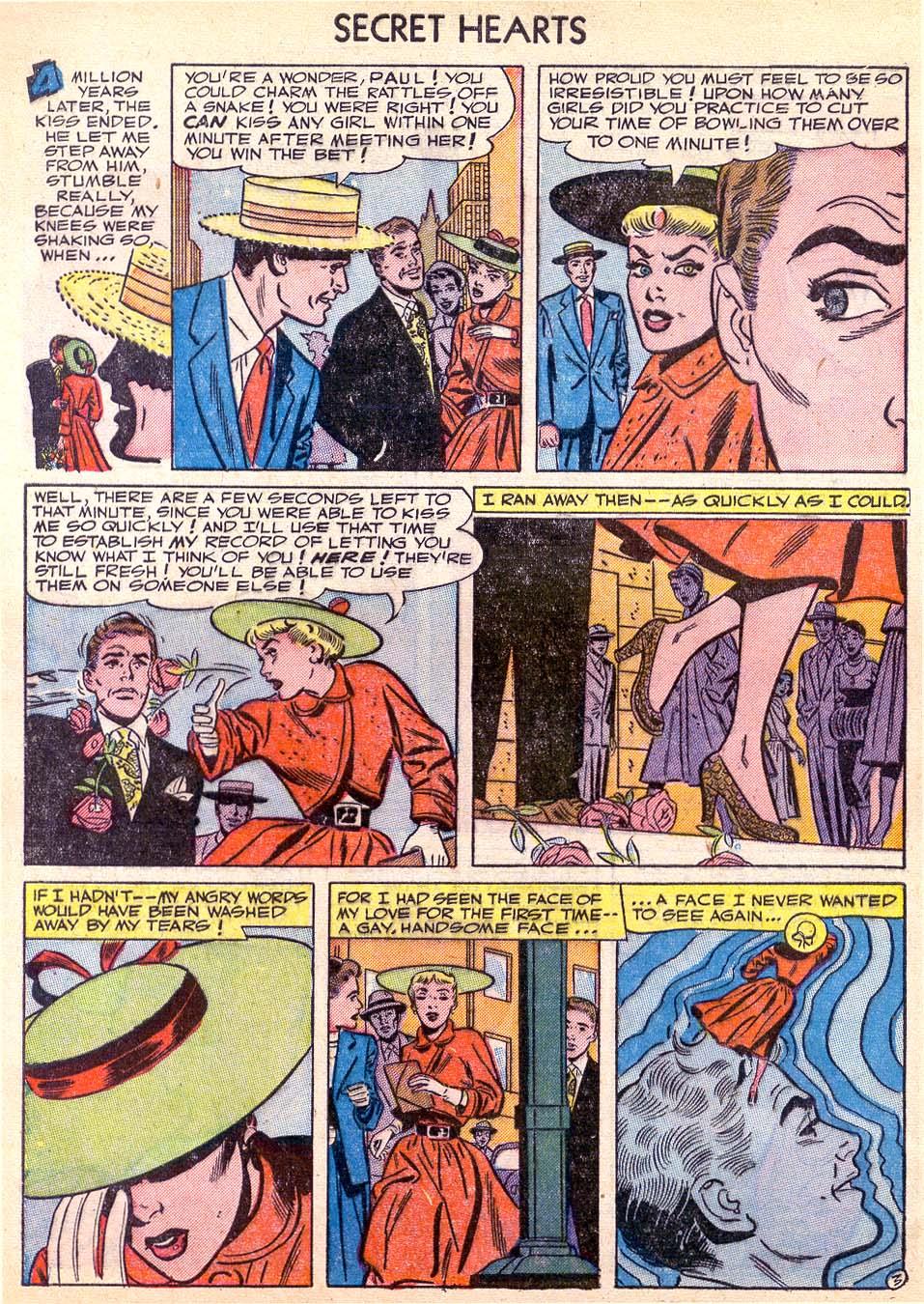 Read online Secret Hearts comic -  Issue #11 - 28