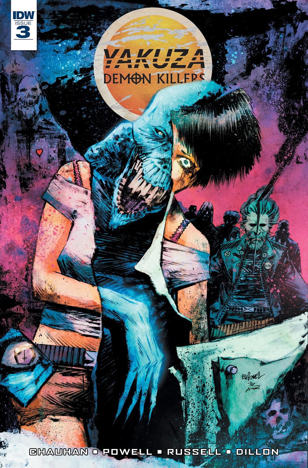 Yakuza Demon Killers 3 Page 1