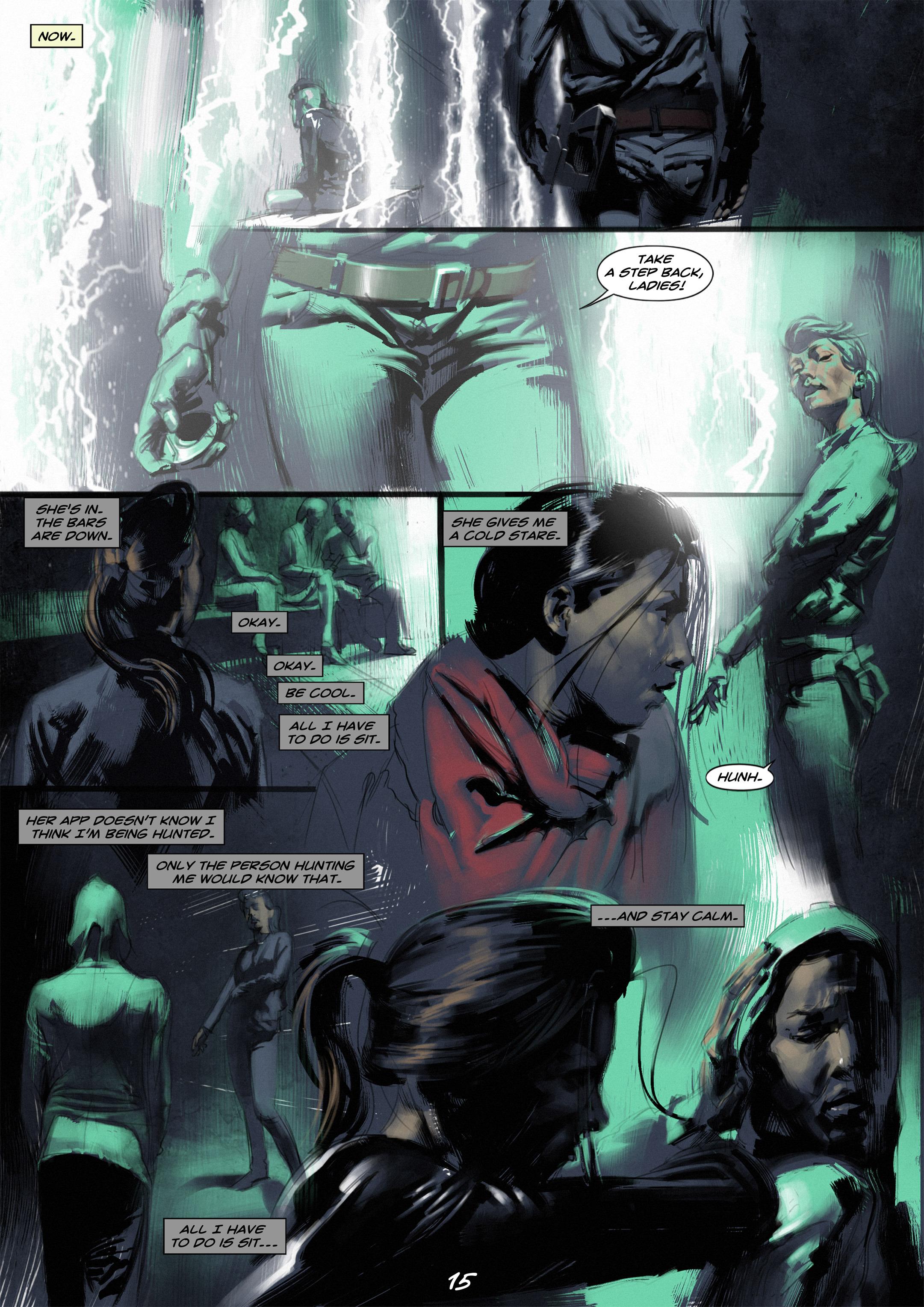 Read online Wynter comic -  Issue #2 - 16