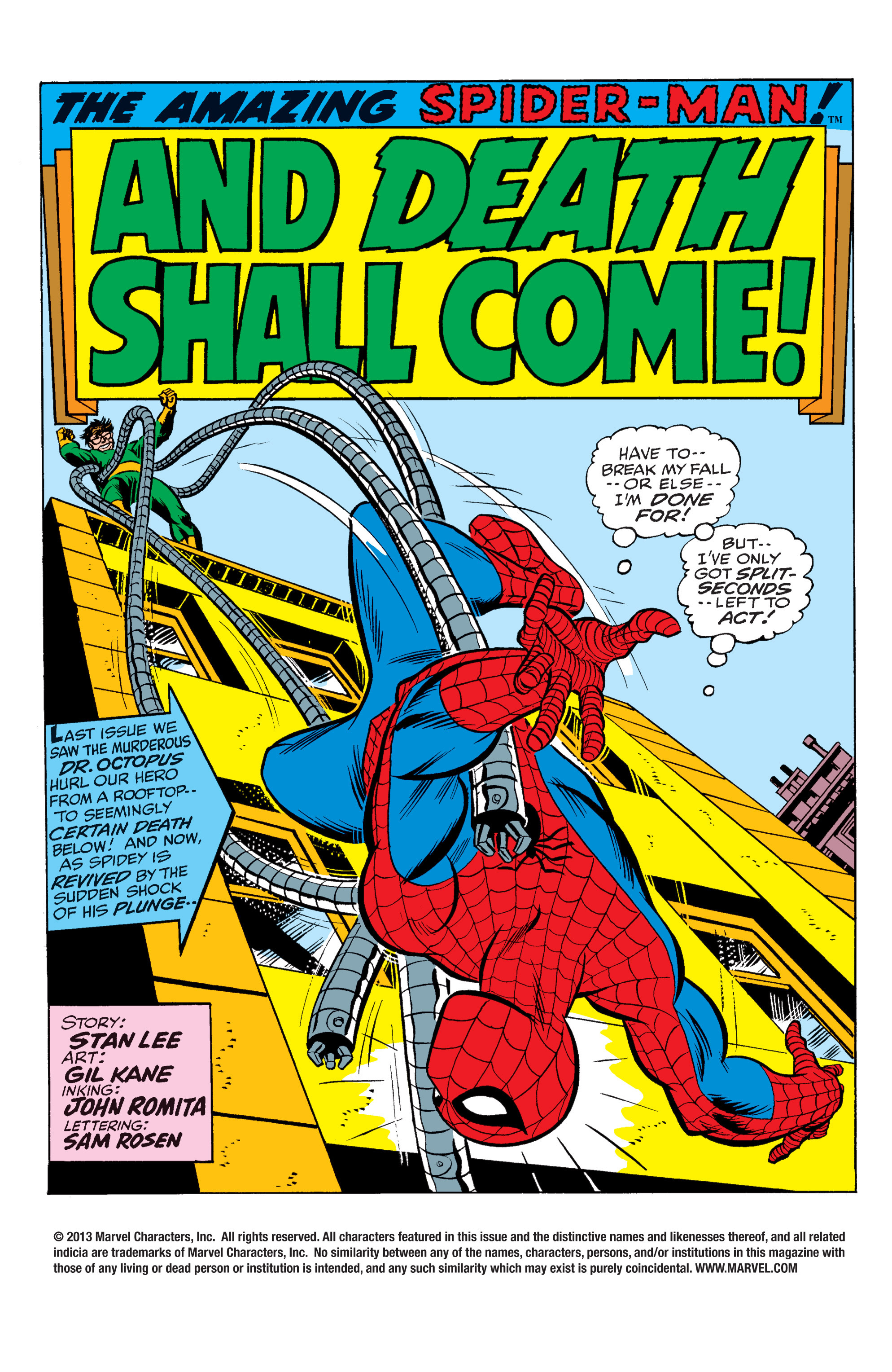 The Amazing Spider-Man (1963) 90 Page 1