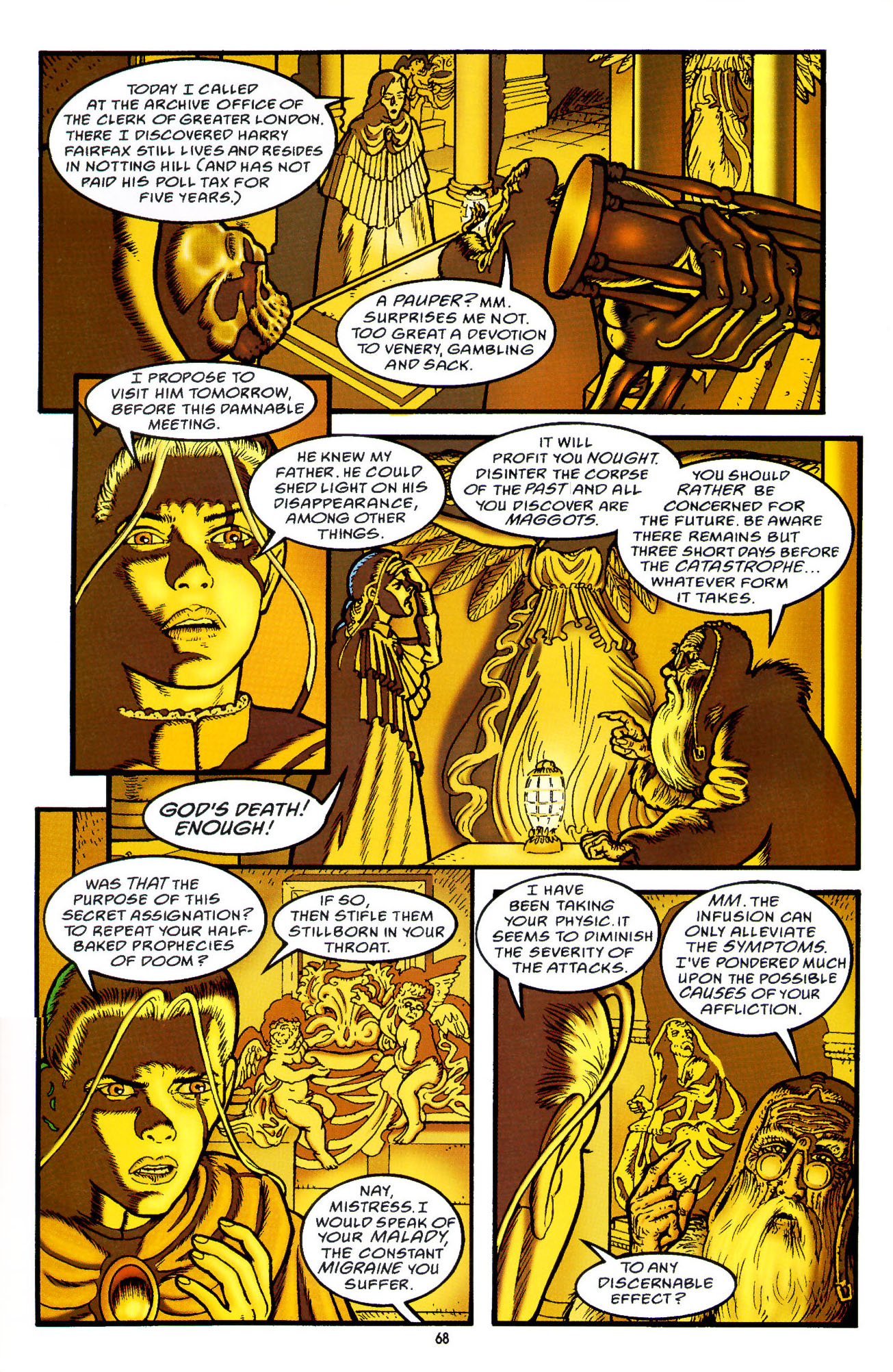 Read online Heart of Empire comic -  Issue #3 - 10