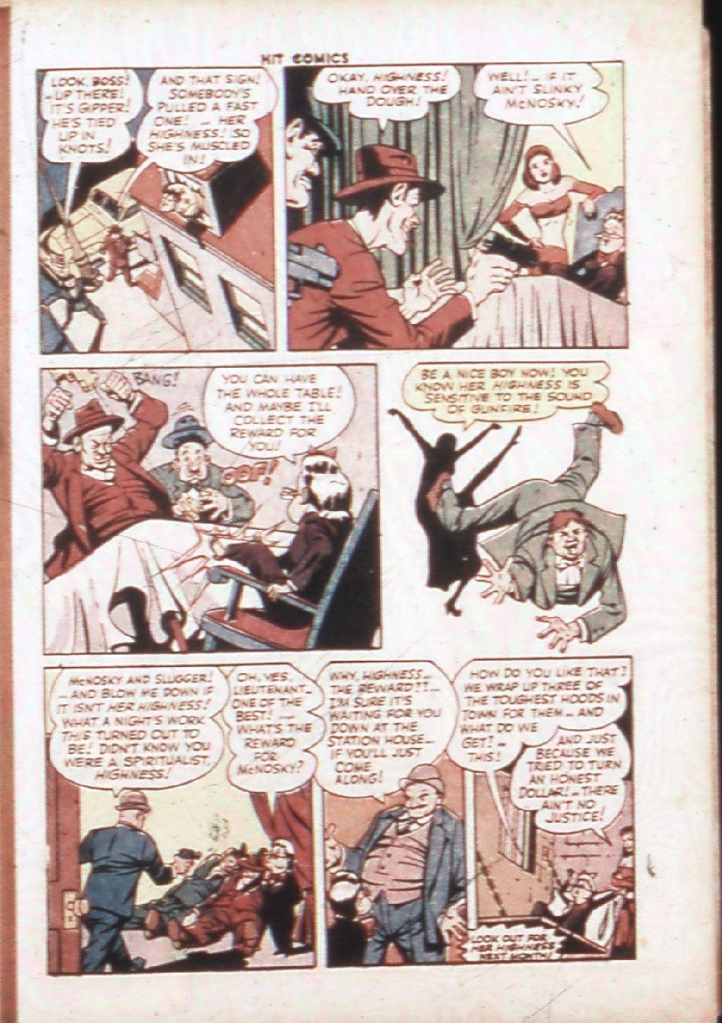 Read online Hit Comics comic -  Issue #30 - 36