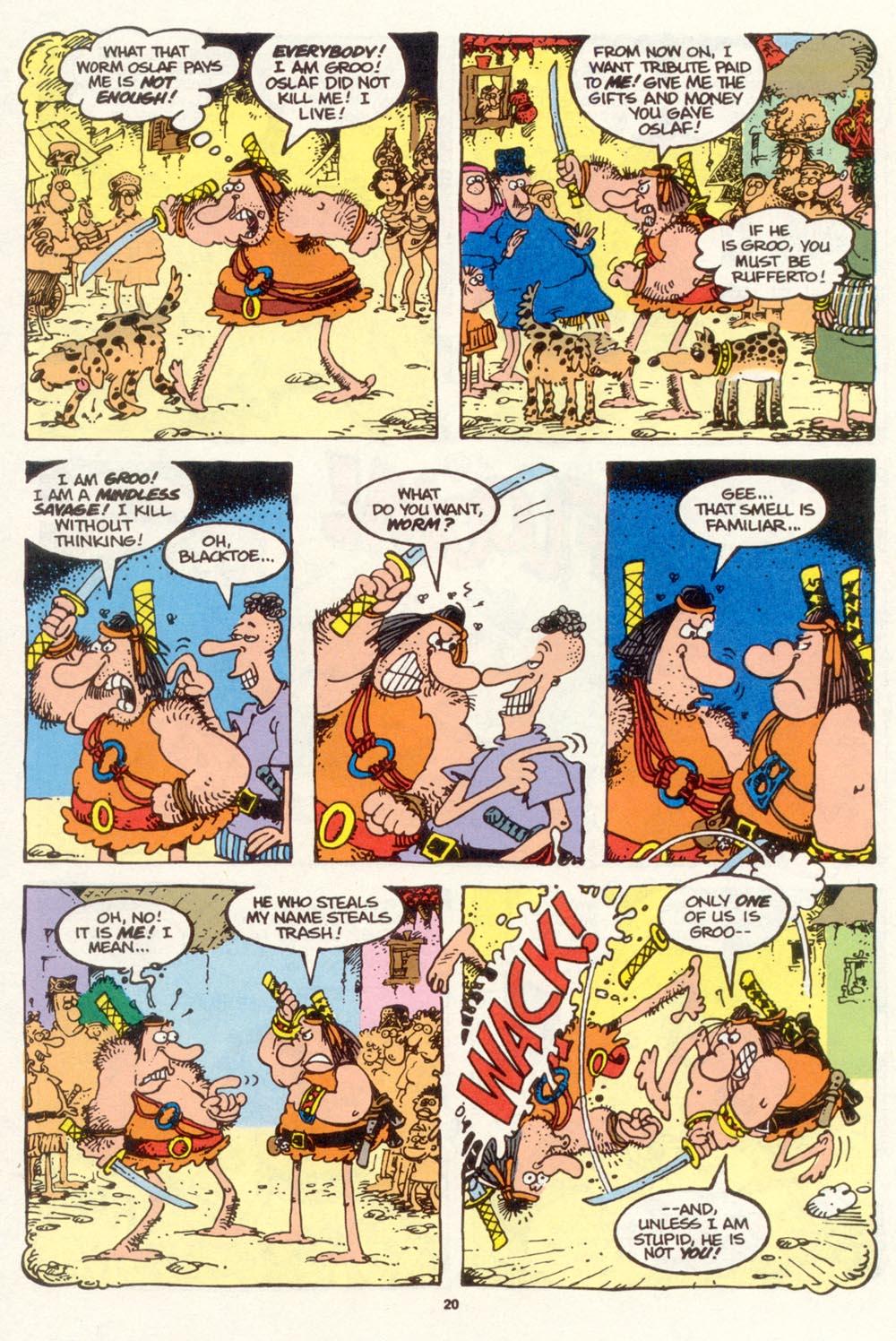 Read online Sergio Aragonés Groo the Wanderer comic -  Issue #111 - 22