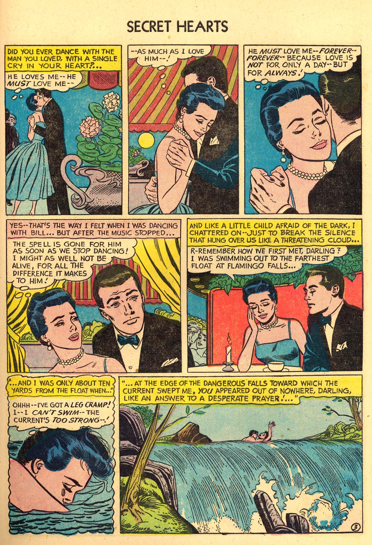 Read online Secret Hearts comic -  Issue #35 - 29