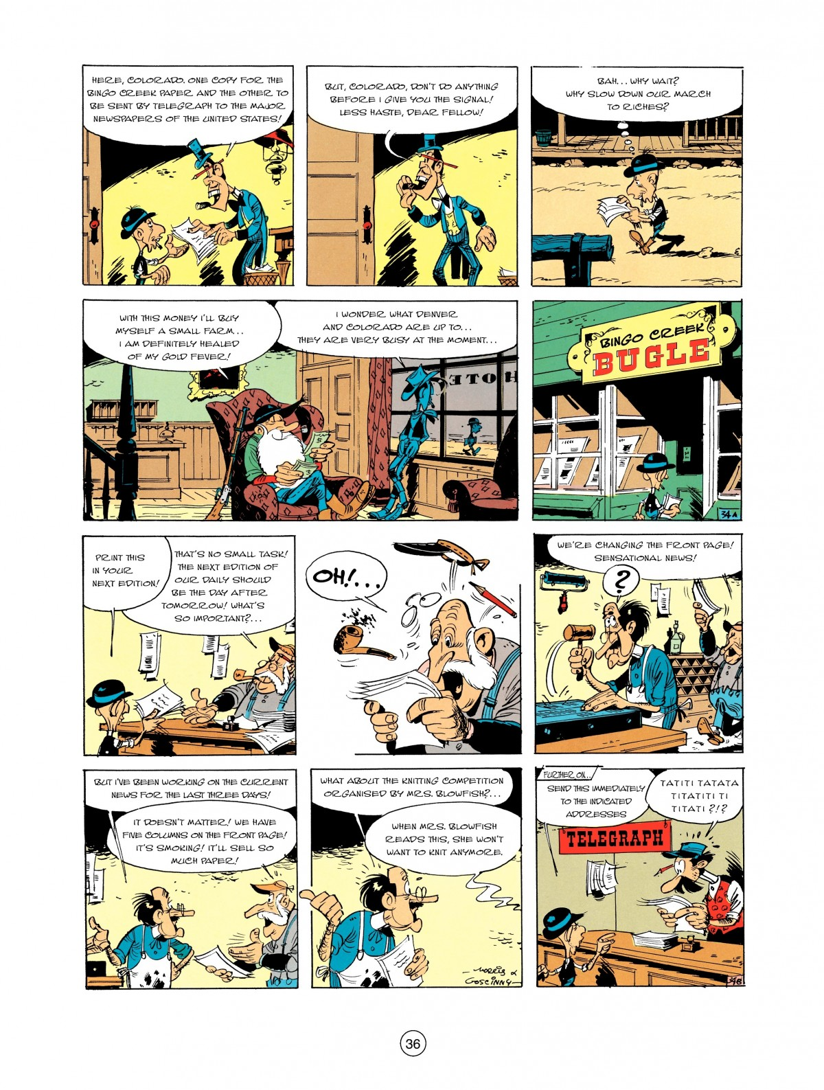 Read online A Lucky Luke Adventure comic -  Issue #2 - 38