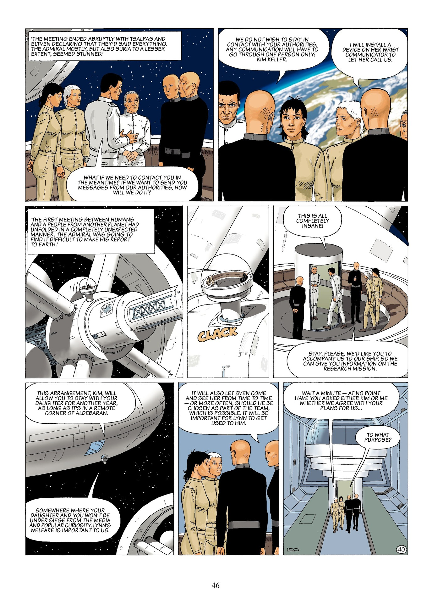 Read online Antares comic -  Issue #6 - 48