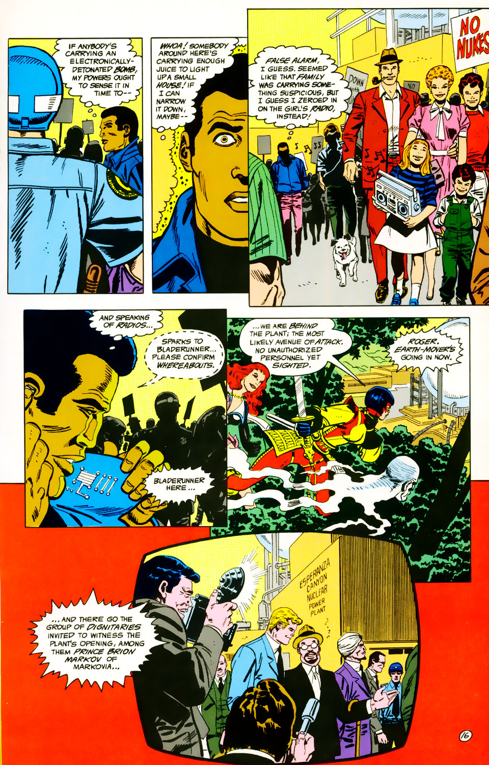 Read online Adventures of the Outsiders comic -  Issue #39 - 17