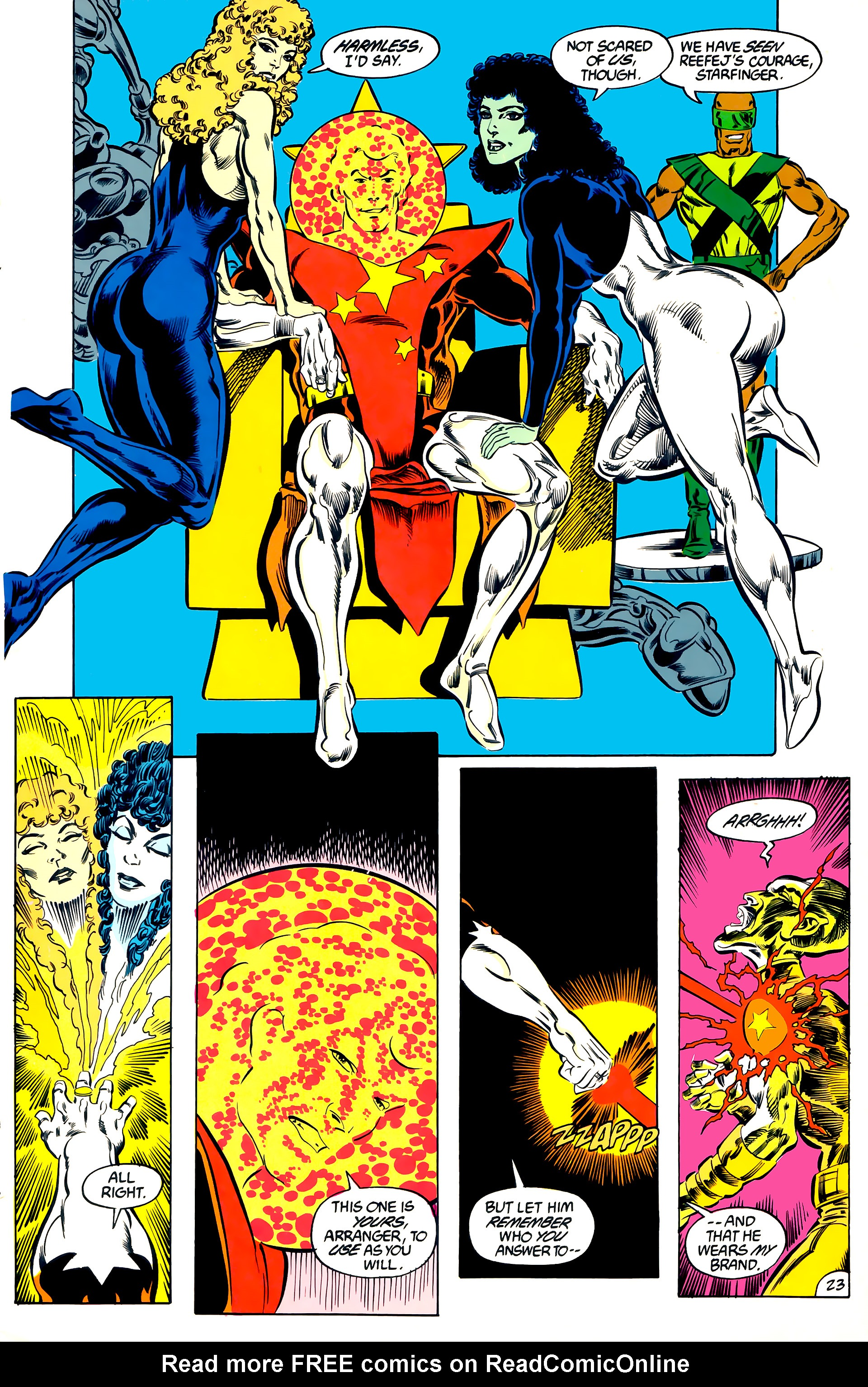 Legion of Super-Heroes (1984) 47 Page 23