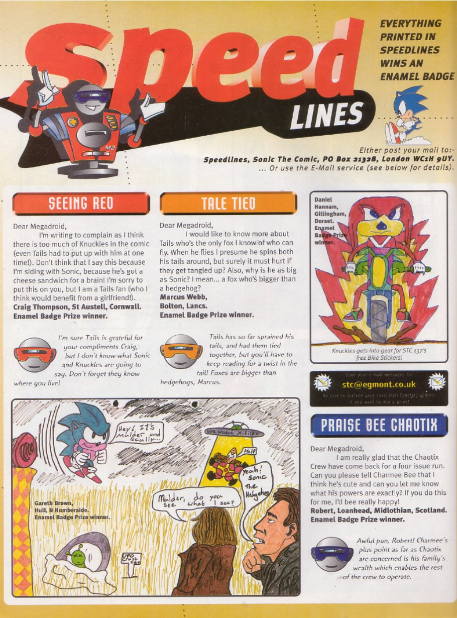 Read online Sonic the Comic comic -  Issue #136 - 22