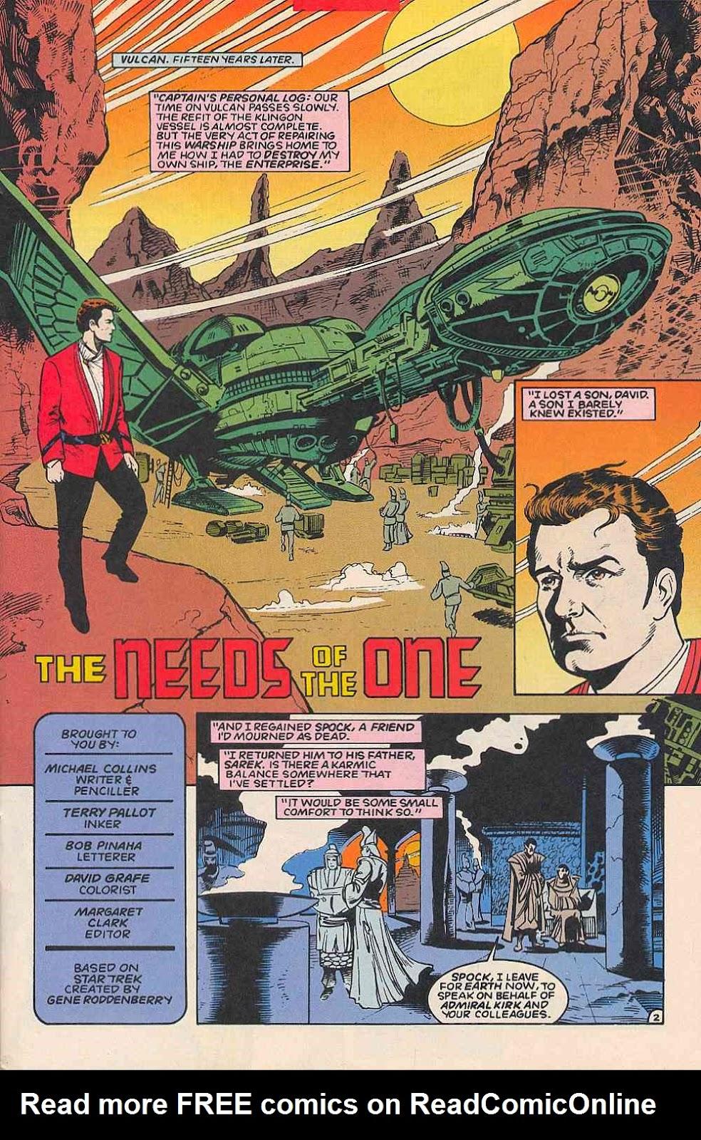 Read online Star Trek (1989) comic -  Issue # _Special 1 - 47