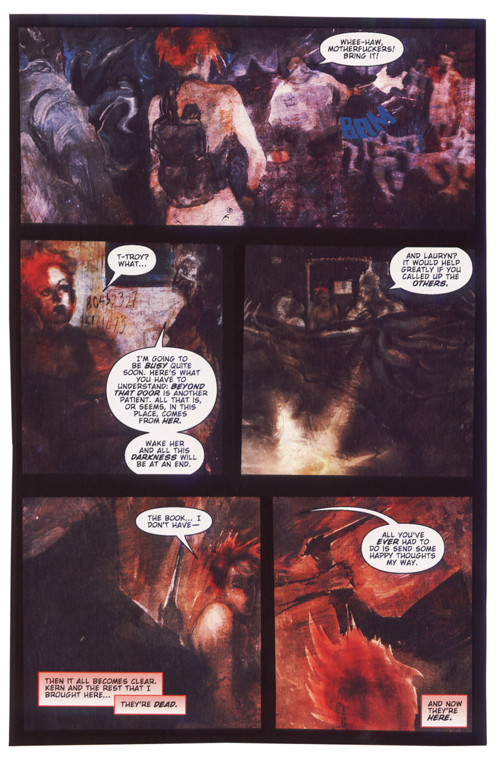 Read online Silent Hill: Dying Inside comic -  Issue #5 - 18