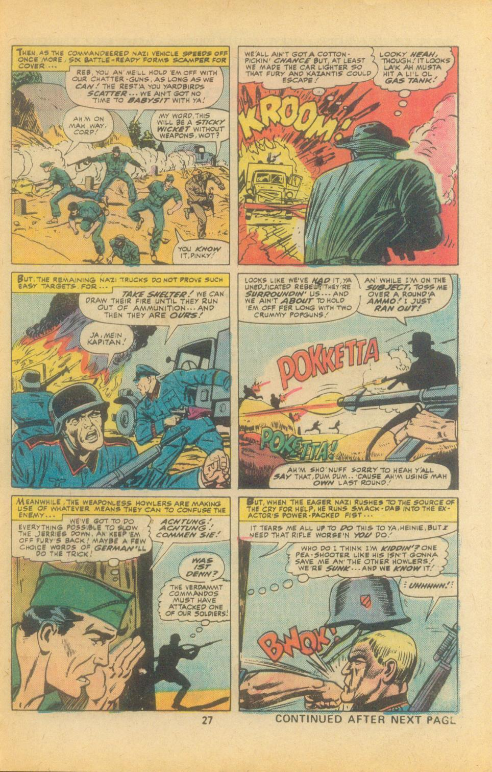 Read online Sgt. Fury comic -  Issue #135 - 29