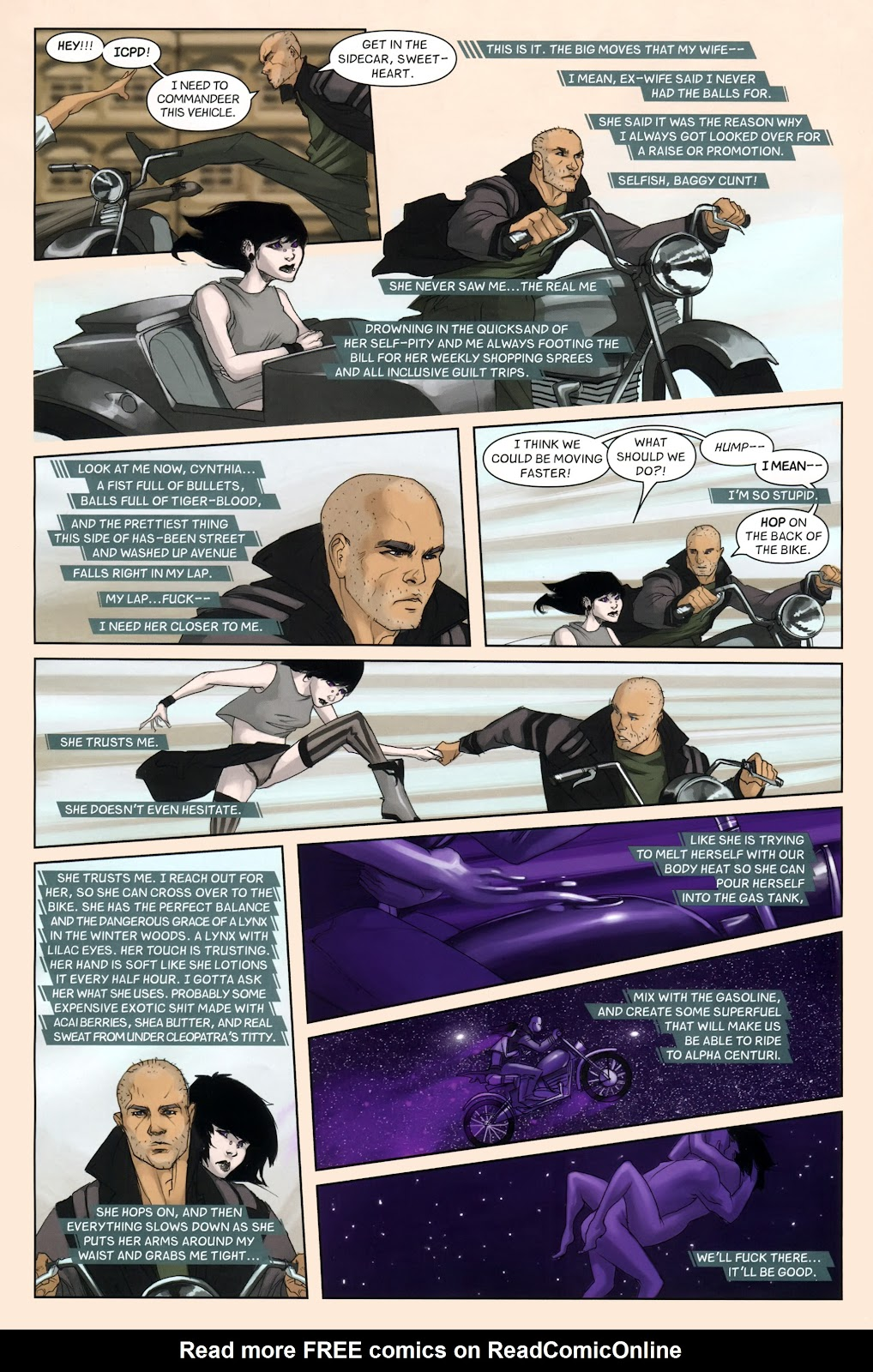 Read online Vescell comic -  Issue #7 - 10