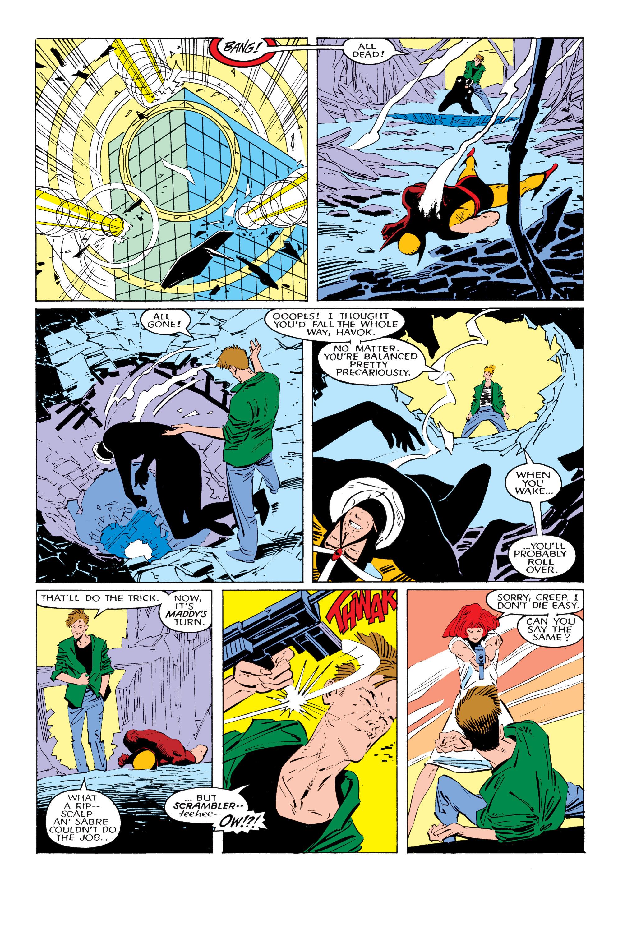 Read online Uncanny X-Men (1963) comic -  Issue #221 - 16
