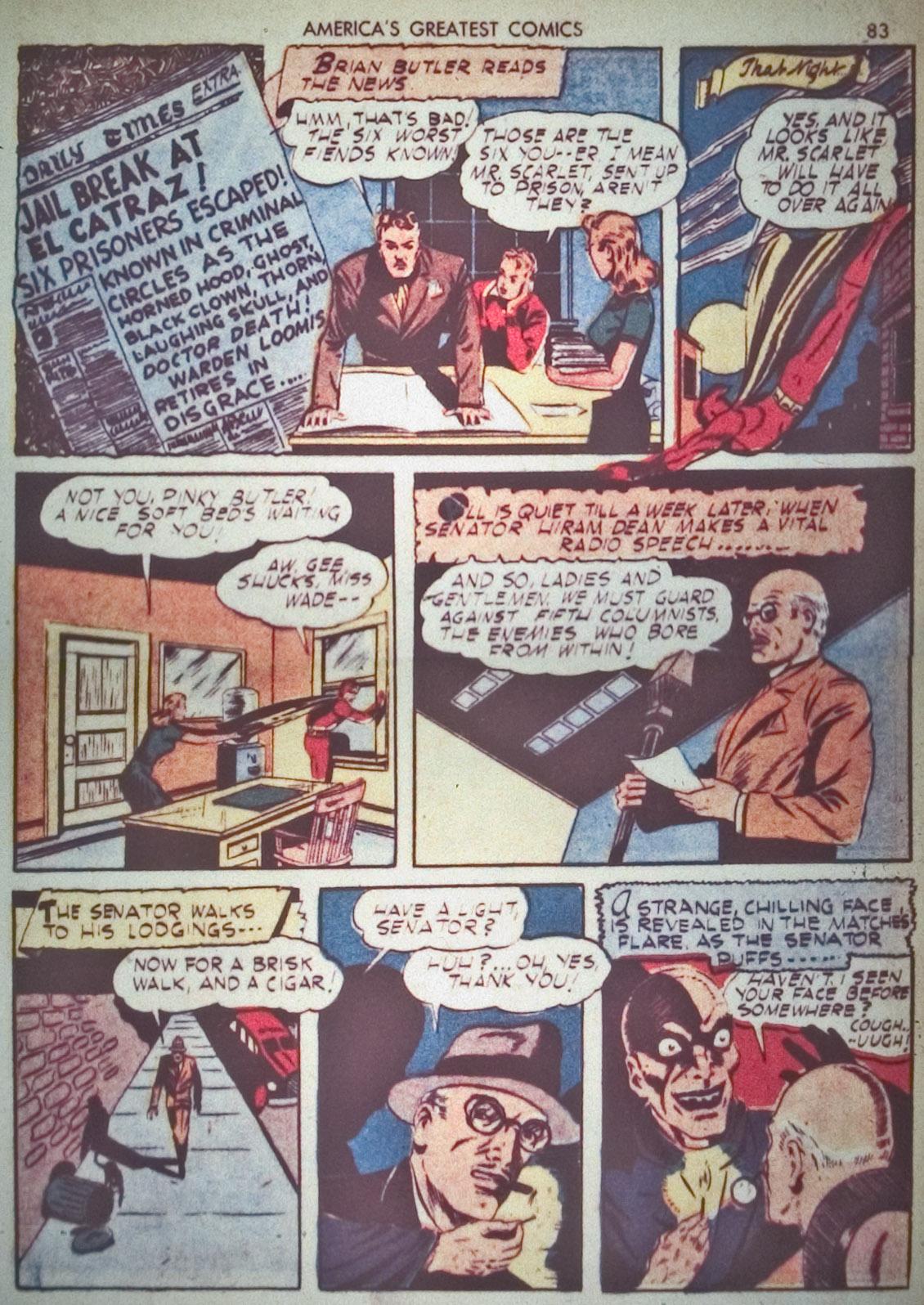Read online America's Greatest Comics comic -  Issue #1 - 86