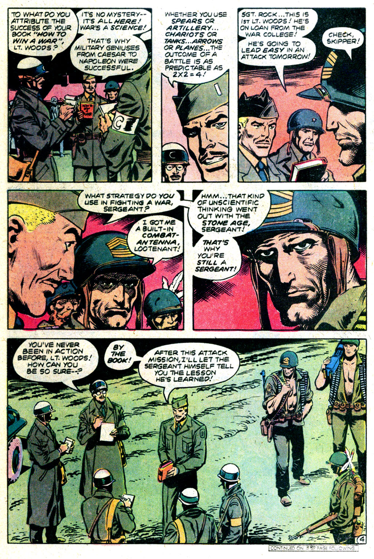 Read online Sgt. Rock comic -  Issue #340 - 4