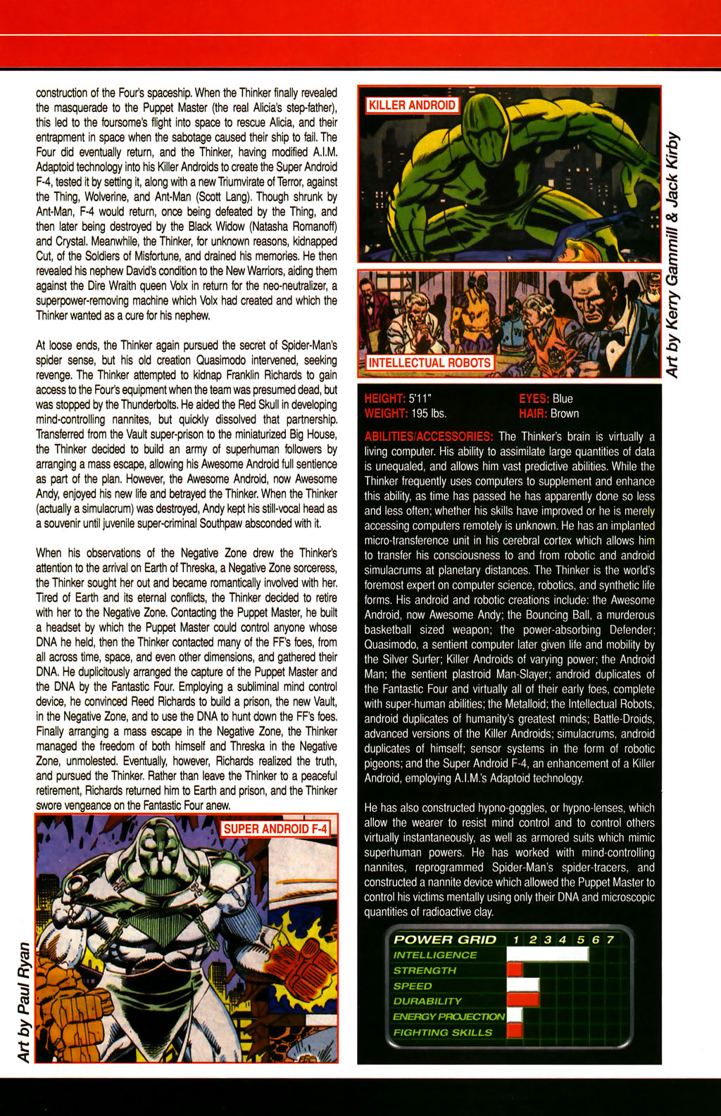 Read online All-New Official Handbook of the Marvel Universe A to Z comic -  Issue #6 - 53
