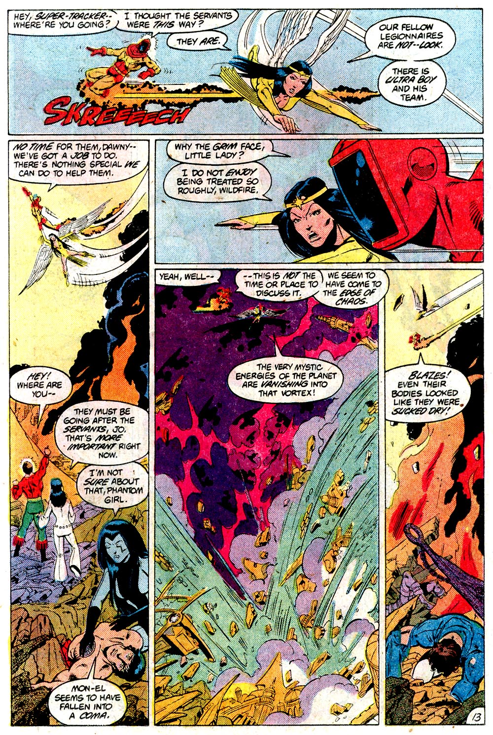 Legion of Super-Heroes (1980) 292 Page 13