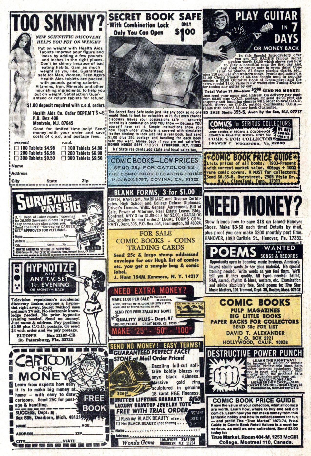 Read online Amazing Adventures (1970) comic -  Issue #22 - 24