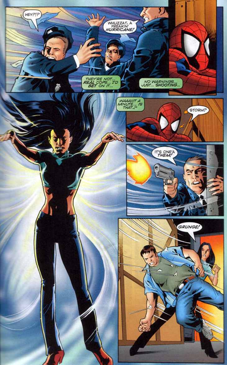 Read online Spider-Man/Gen13 comic -  Issue # Full - 16
