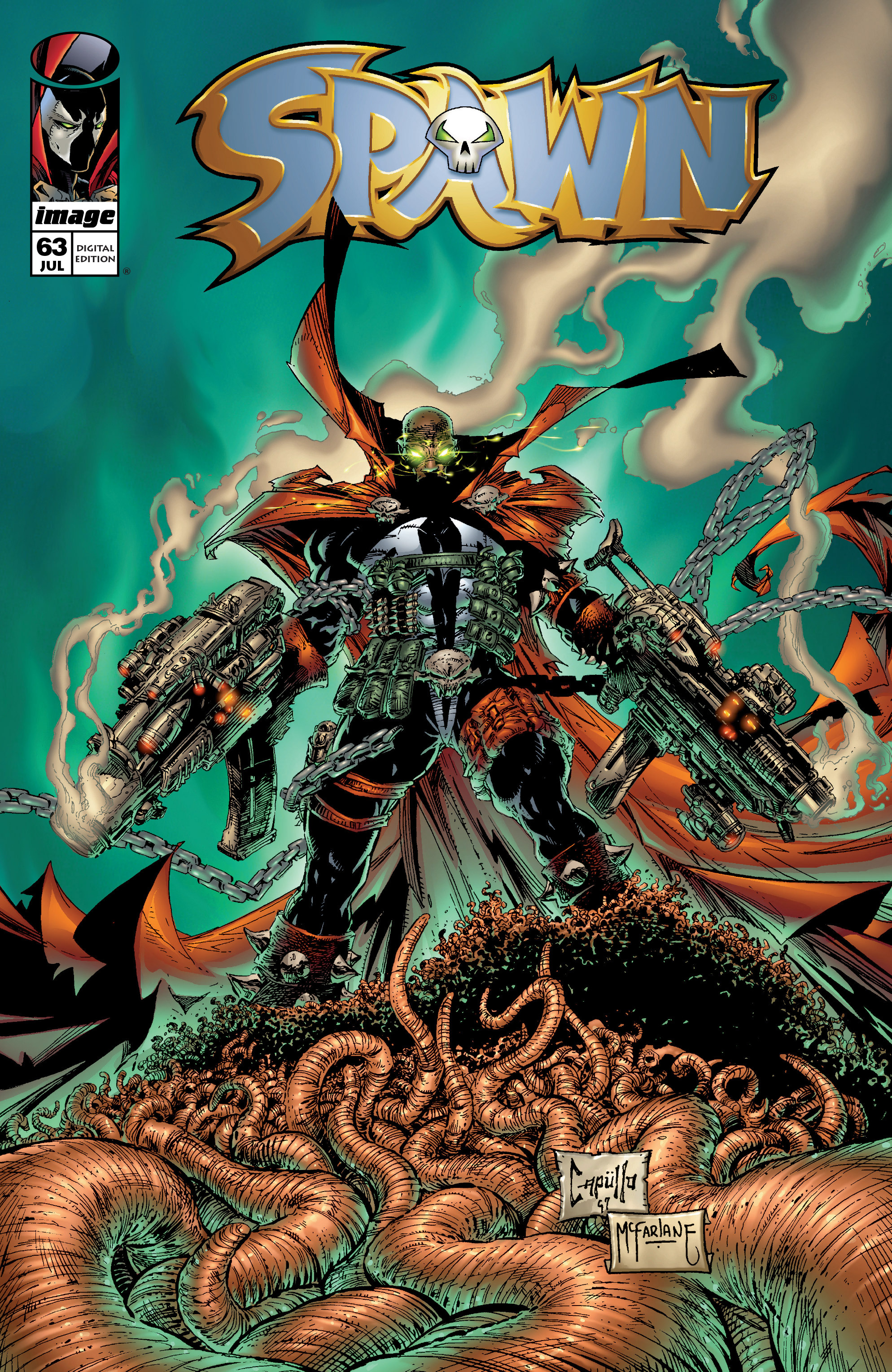 Spawn 63 Page 1