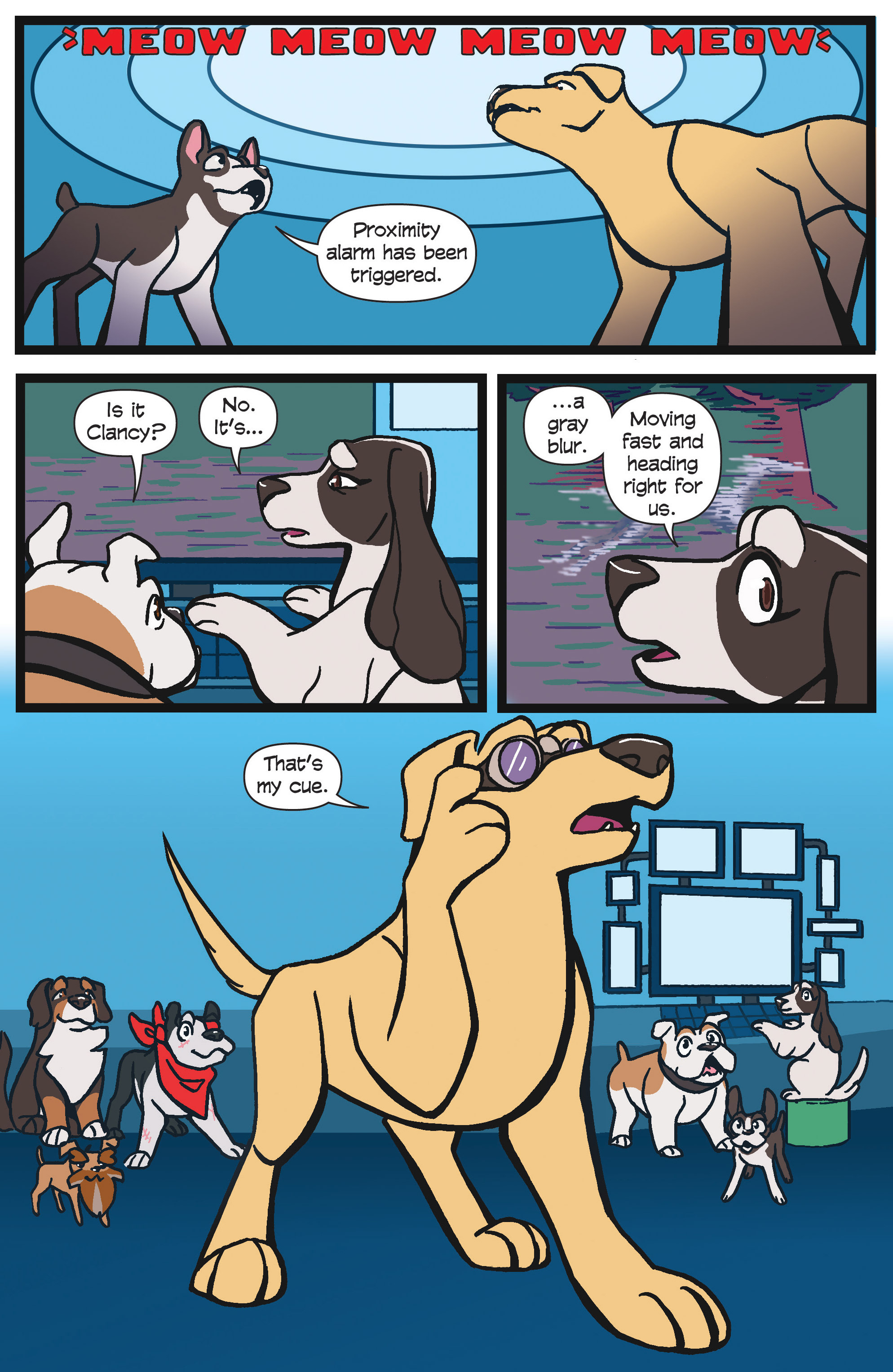 Read online Action Lab, Dog of Wonder comic -  Issue #4 - 13