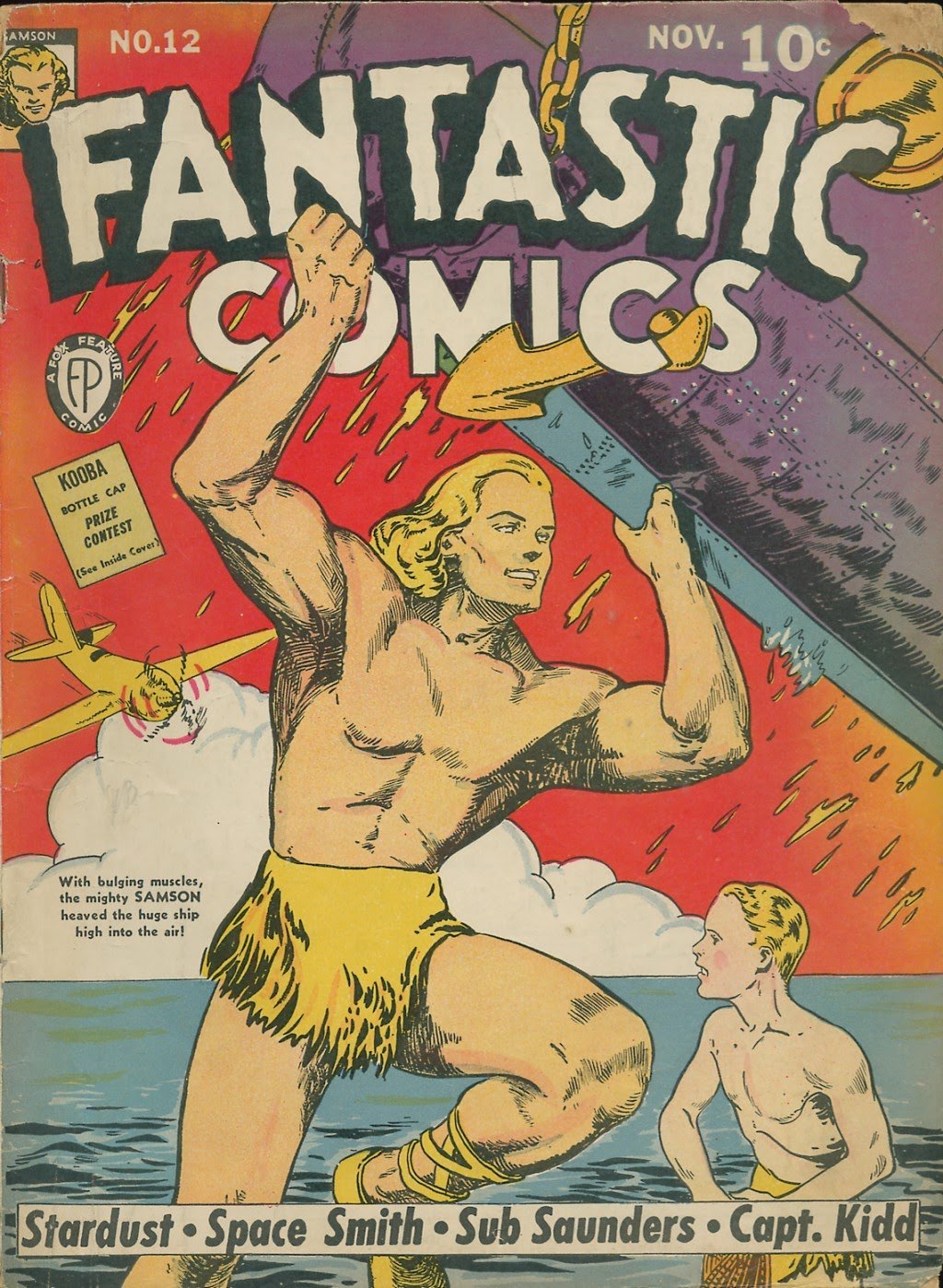 Read online Fantastic Comics comic -  Issue #12 - 1
