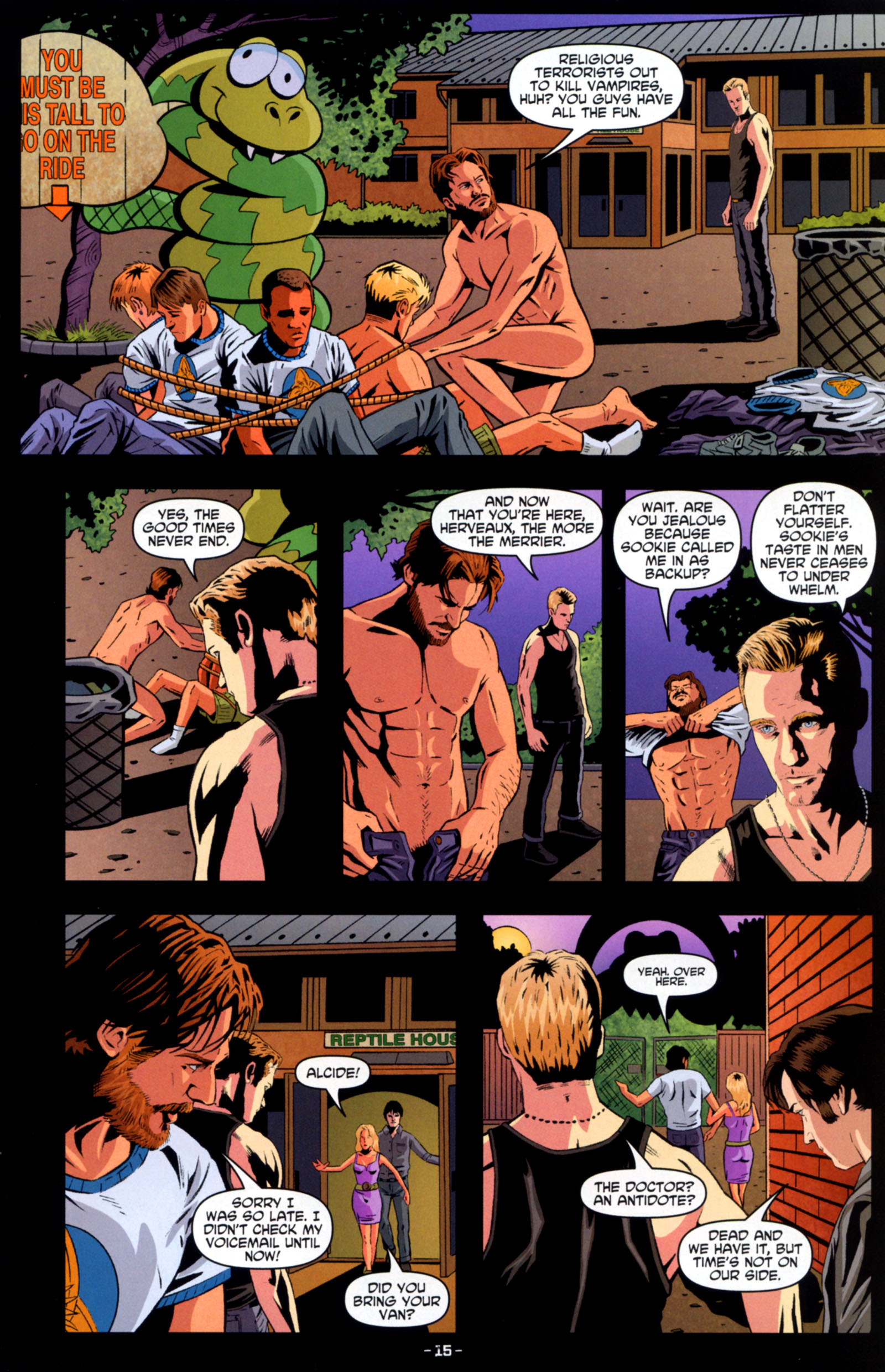 Read online True Blood: Tainted Love comic -  Issue #6 - 17