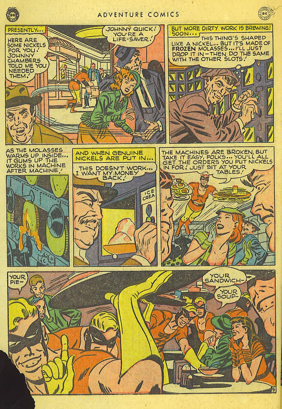 Read online Adventure Comics (1938) comic -  Issue #127 - 39
