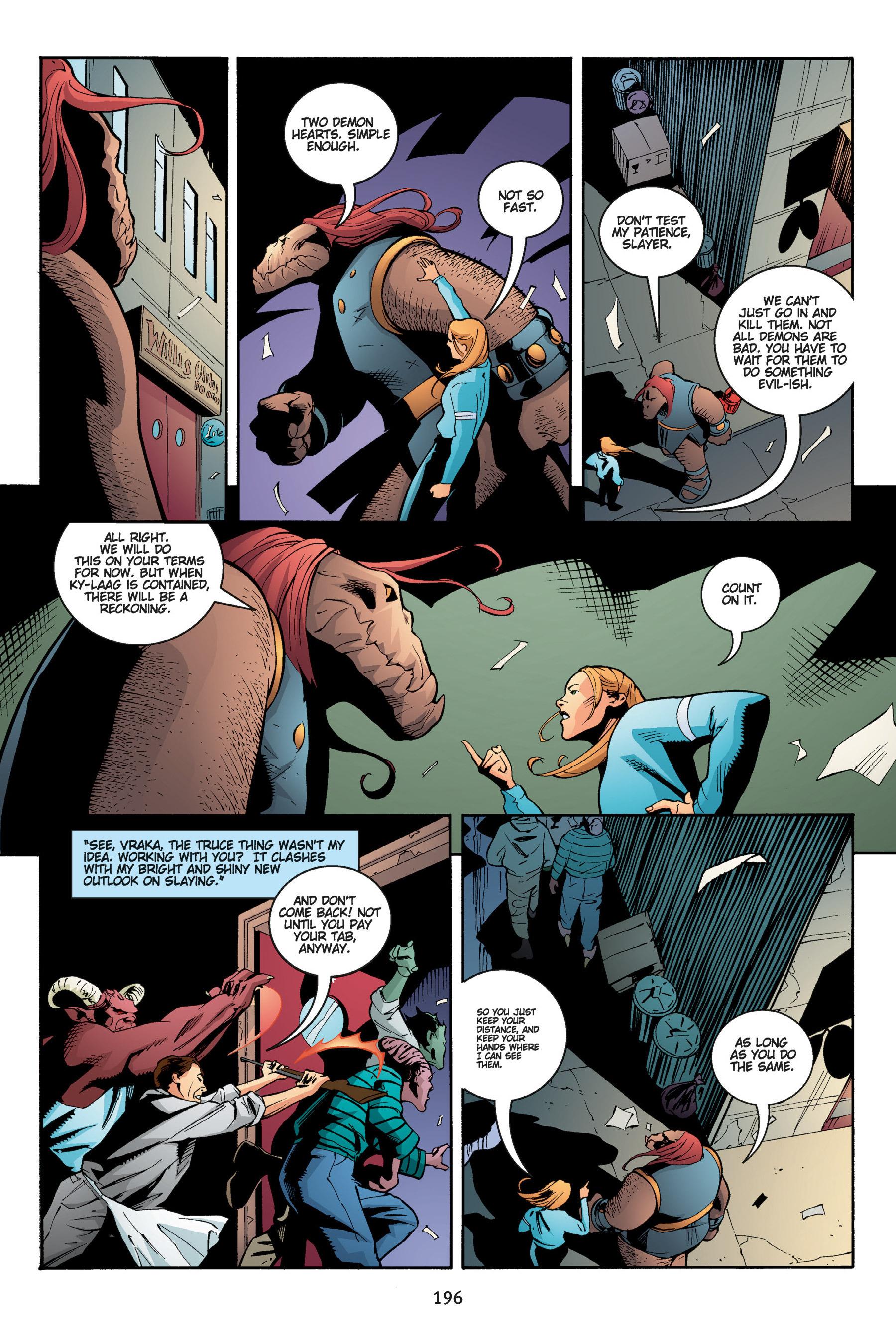 Read online Buffy the Vampire Slayer: Omnibus comic -  Issue # TPB 5 - 196