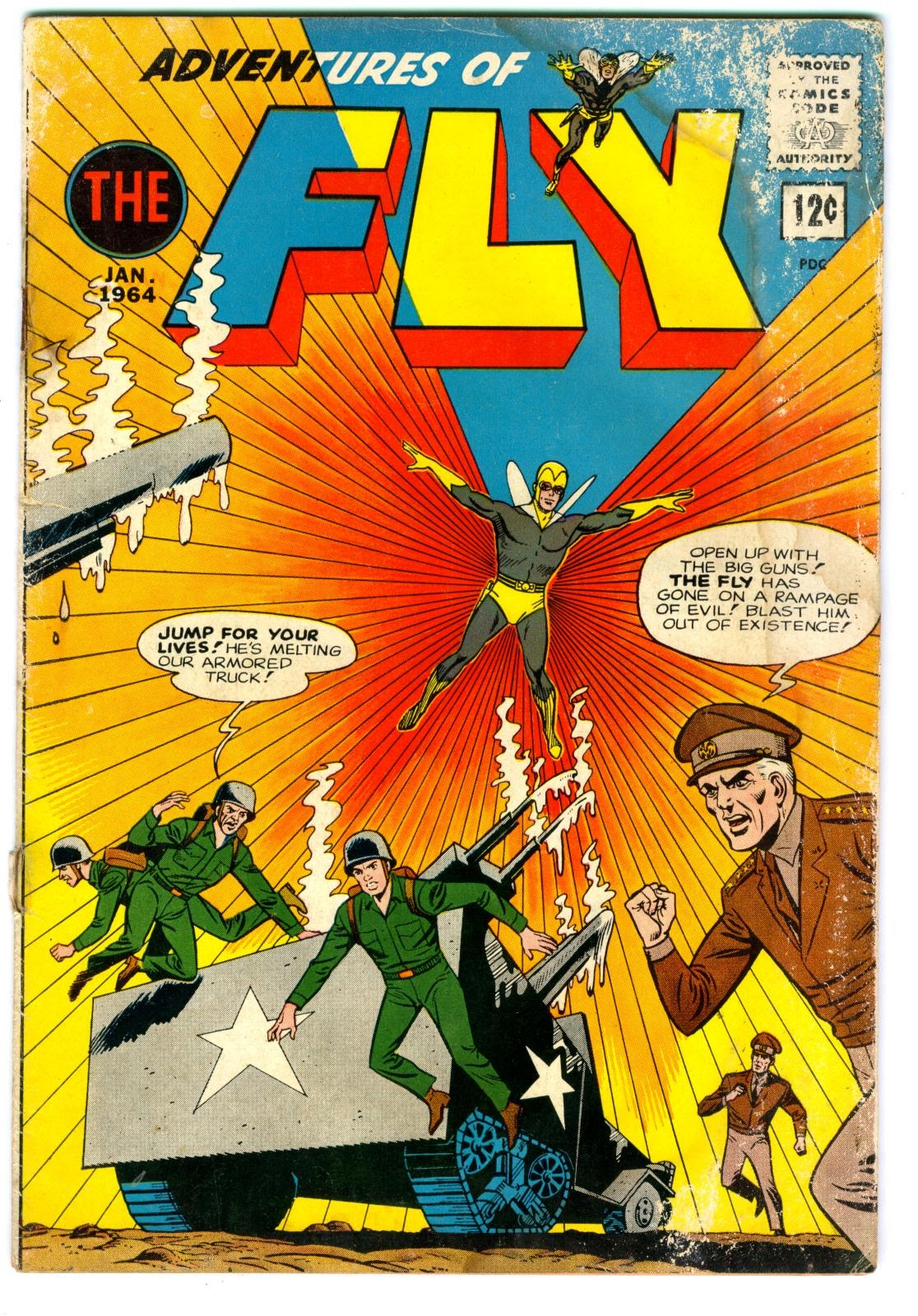 Adventures of the Fly issue 29 - Page 1