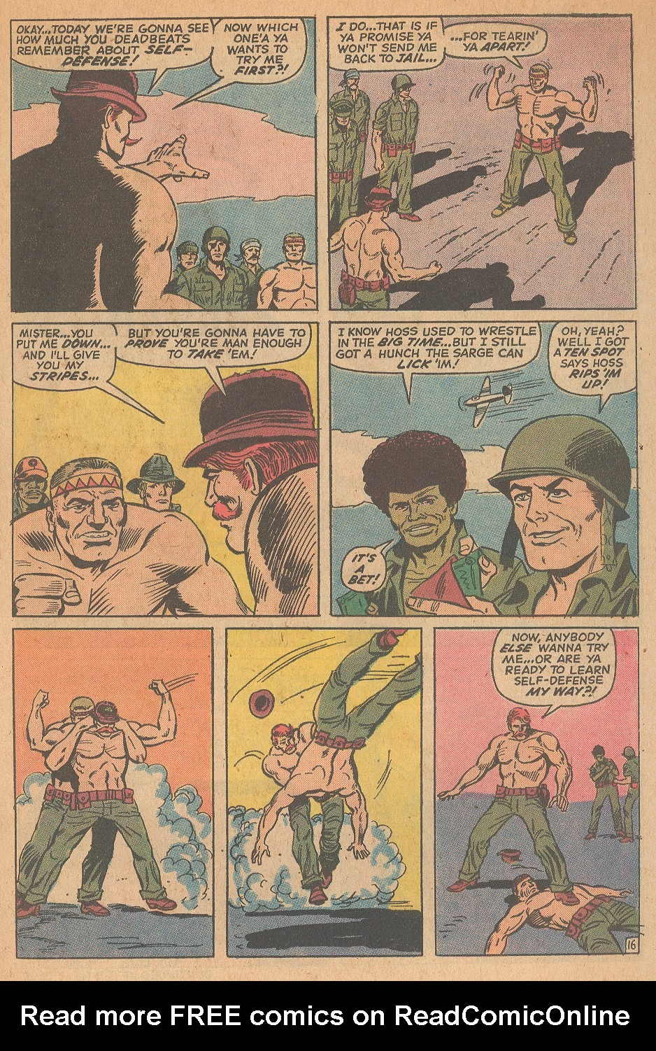 Read online Sgt. Fury comic -  Issue #98 - 23