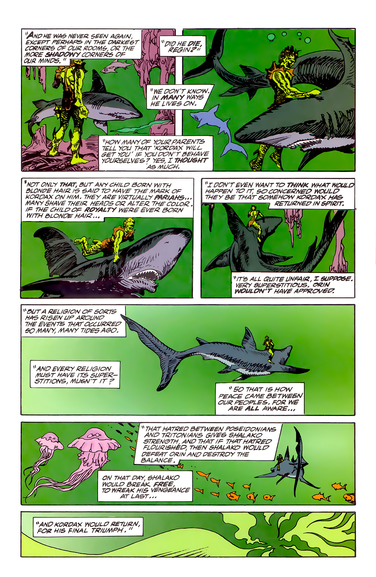 Read online Atlantis Chronicles comic -  Issue #5 - 33