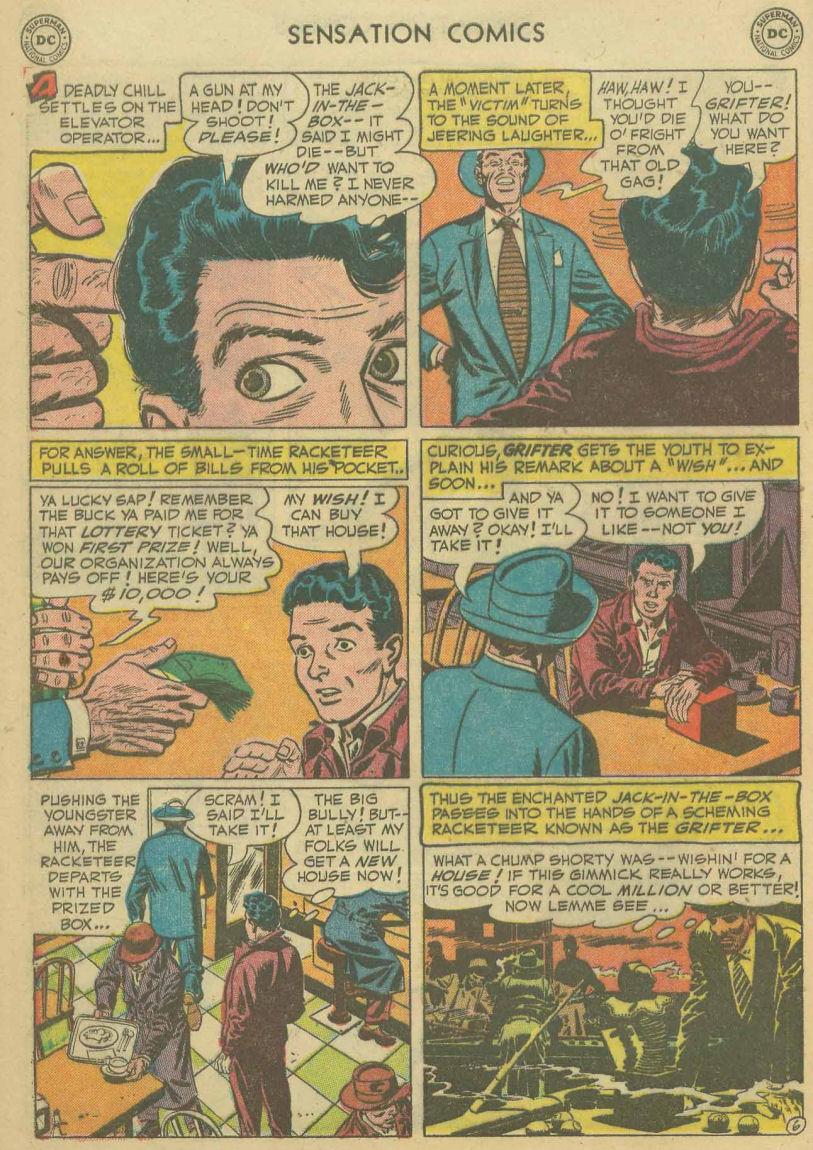 Read online Sensation (Mystery) Comics comic -  Issue #107 - 8