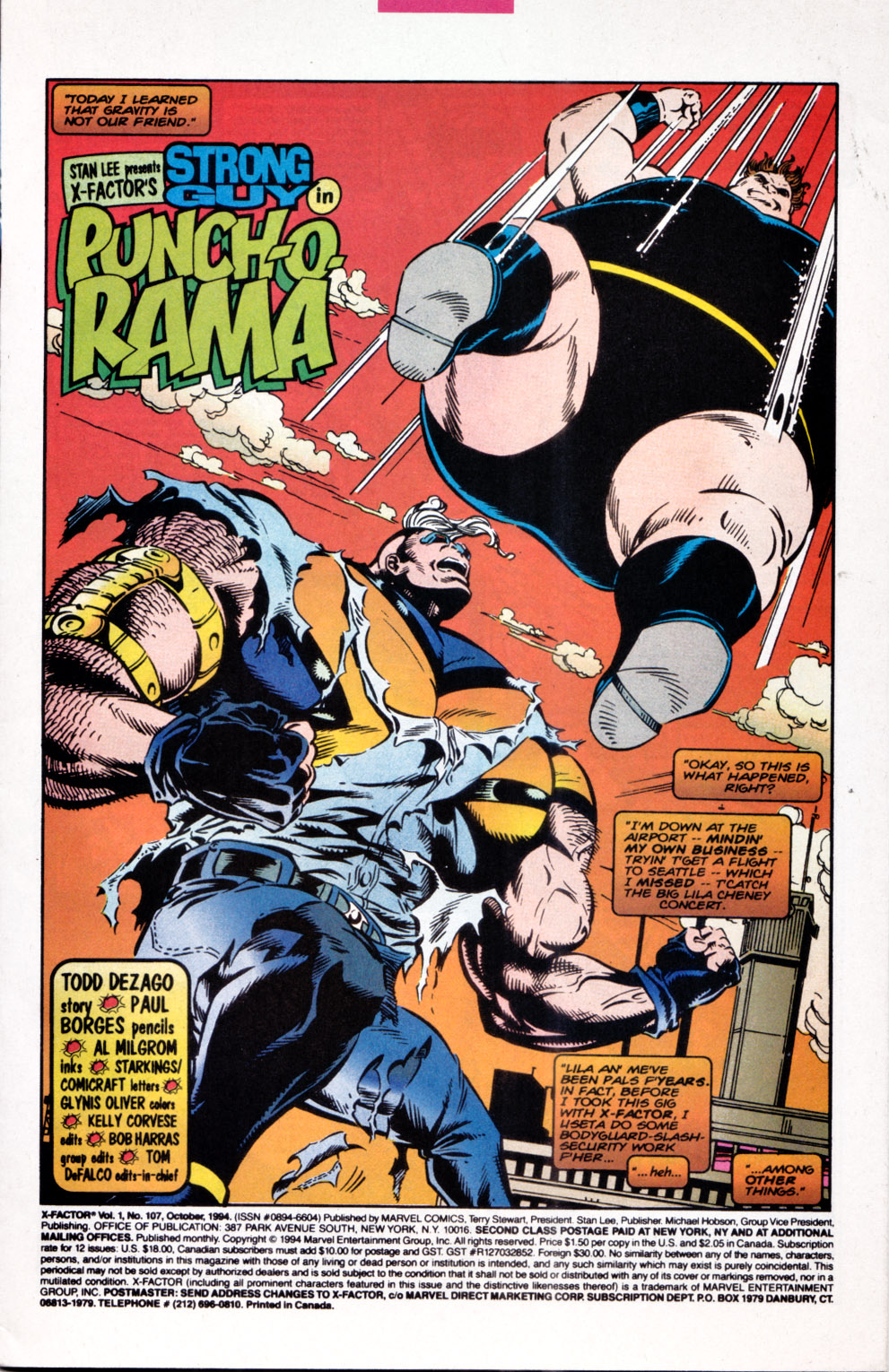 Read online X-Factor (1986) comic -  Issue #107 - 2