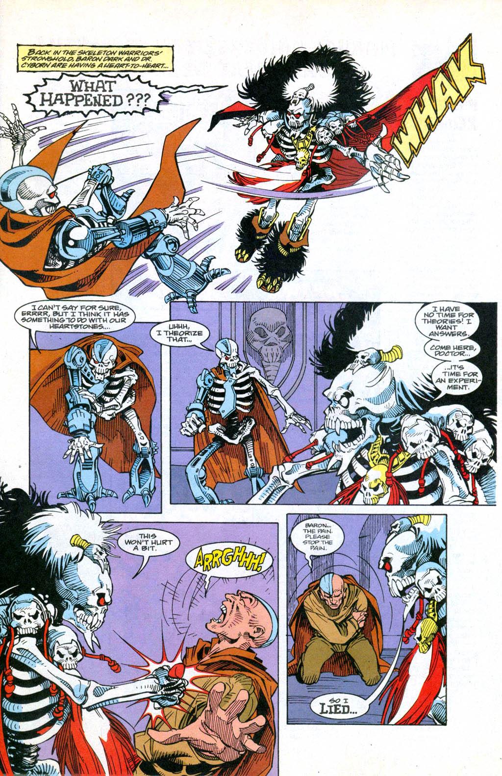 Skeleton Warriors Issue #3 #3 - English 9