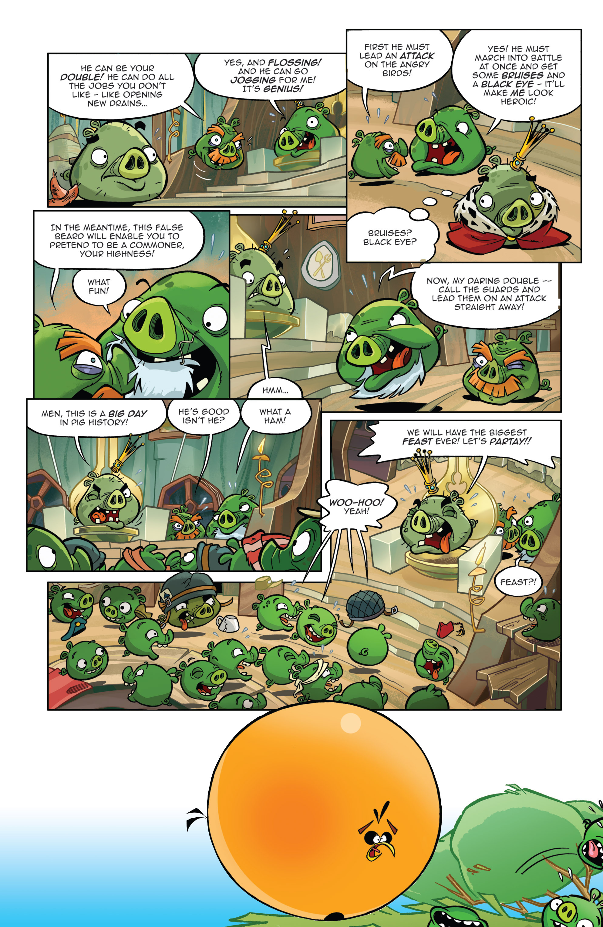 Read online Angry Birds Comics (2014) comic -  Issue #8 - 19