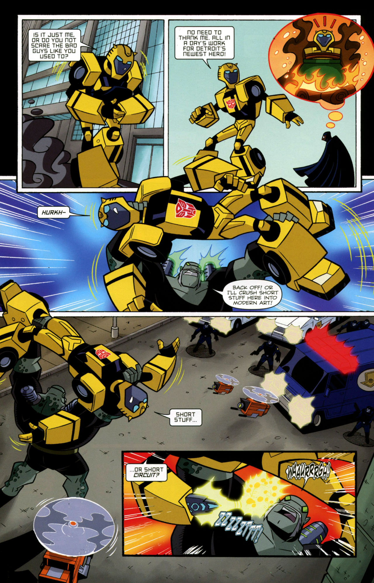 Read online Transformers Animated: The Arrival comic -  Issue #2 - 10