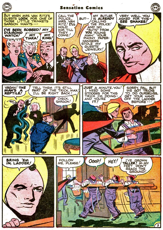 Read online Sensation (Mystery) Comics comic -  Issue #64 - 33