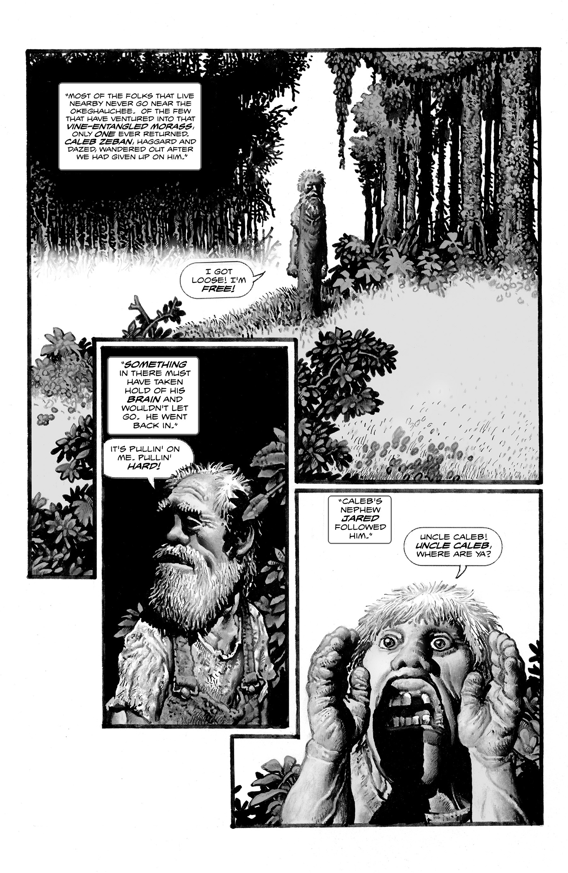 Read online Shadows on the Grave comic -  Issue #2 - 12