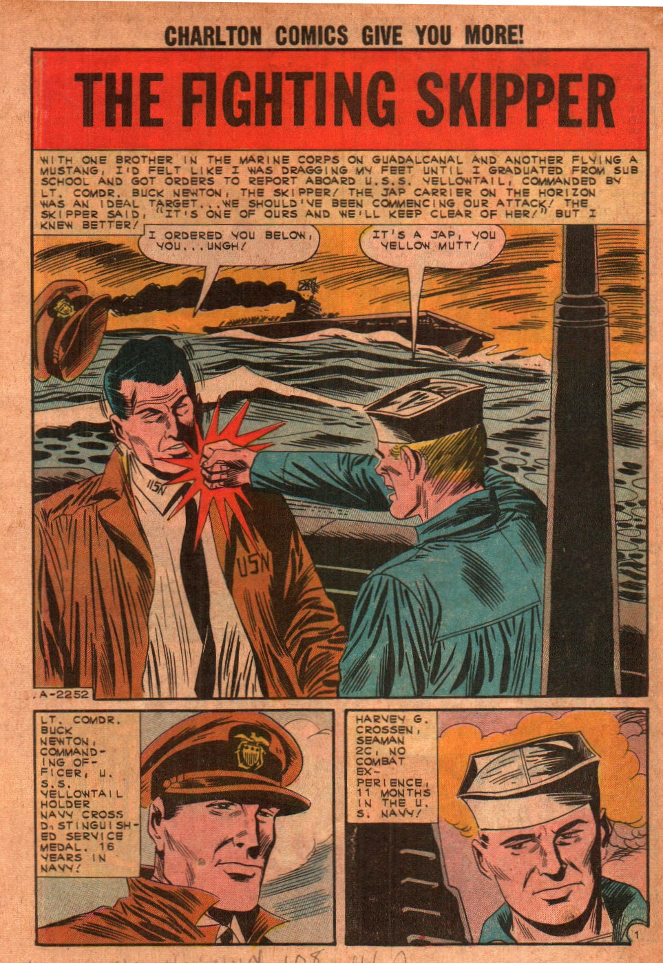 Read online Fightin' Navy comic -  Issue #108 - 3