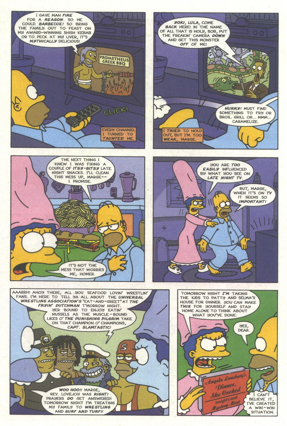 Read online Simpsons Comics comic -  Issue #29 - 3