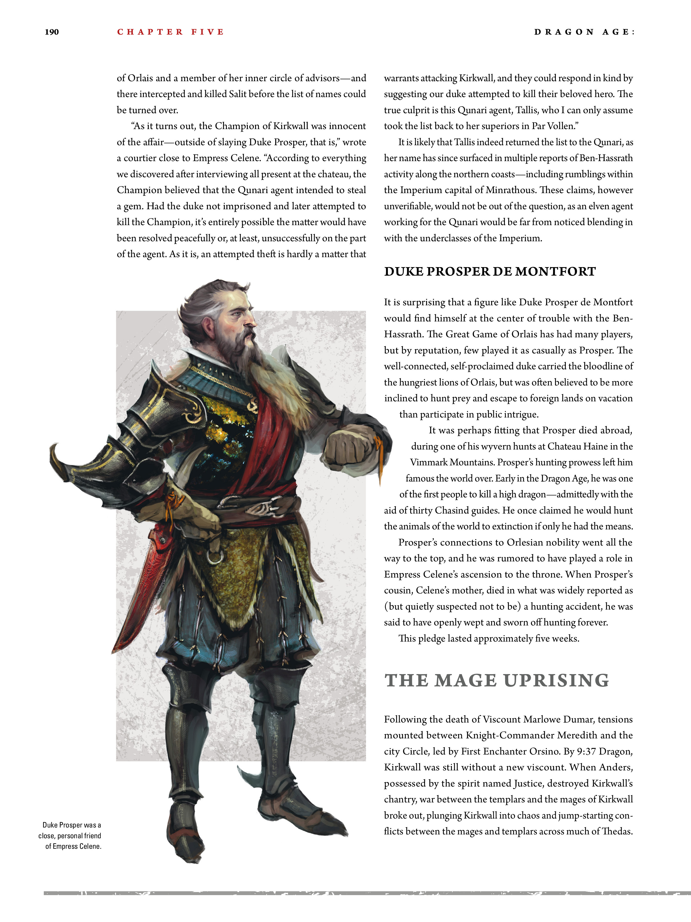 Read online Dragon Age: The World of Thedas comic -  Issue # TPB 2 - 185