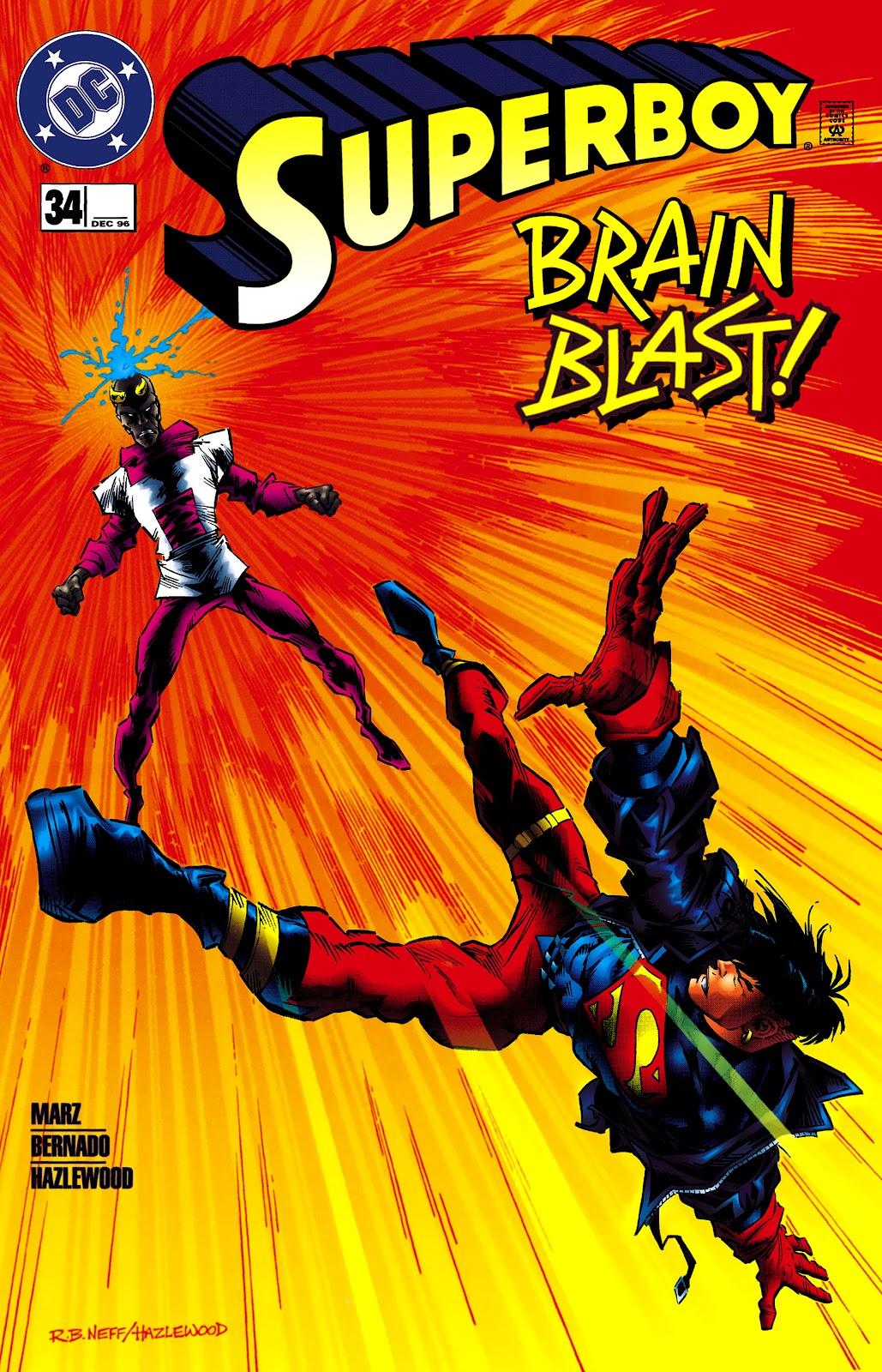 Superboy (1994) 34 Page 1