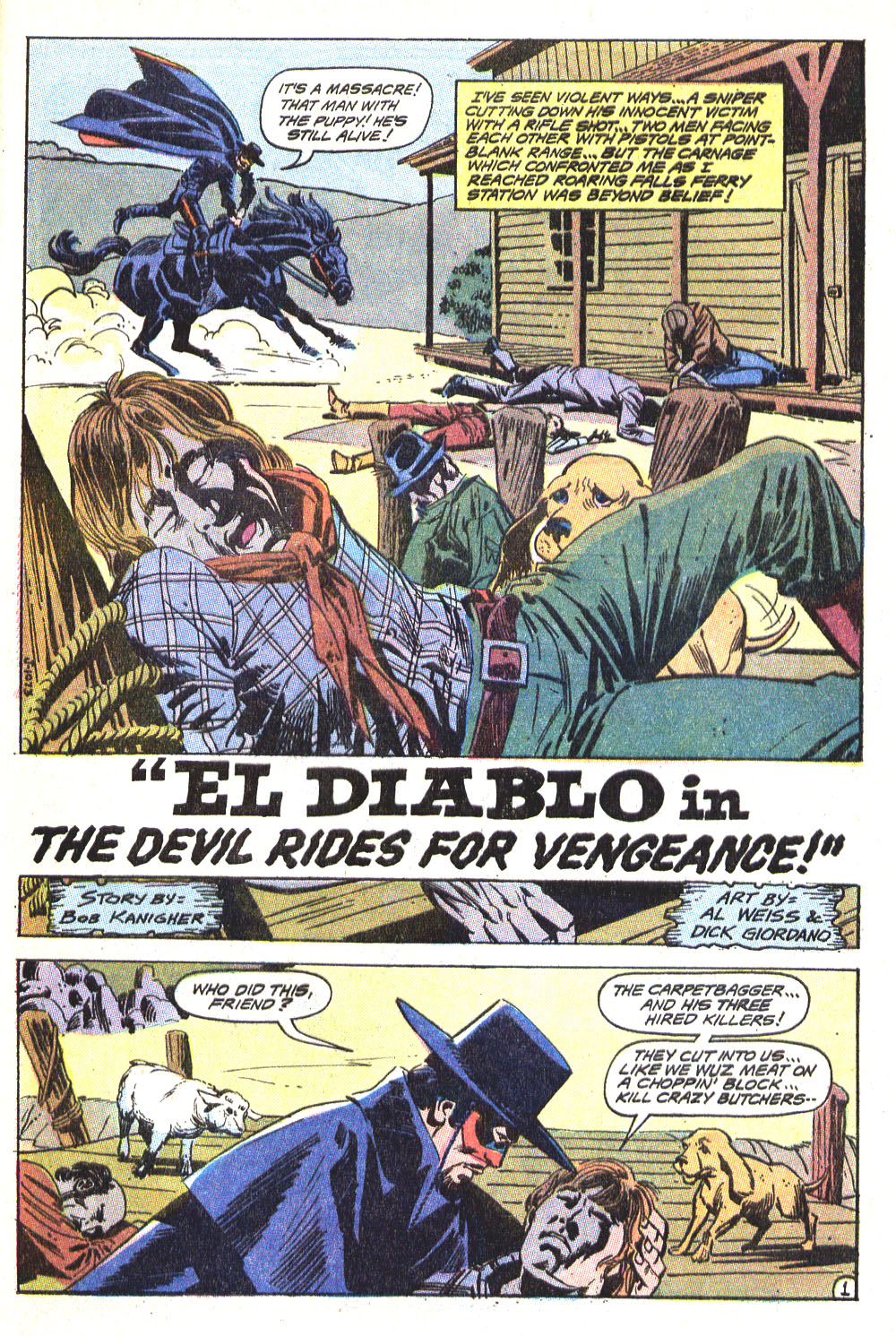 Read online All-Star Western (1970) comic -  Issue #5 - 21