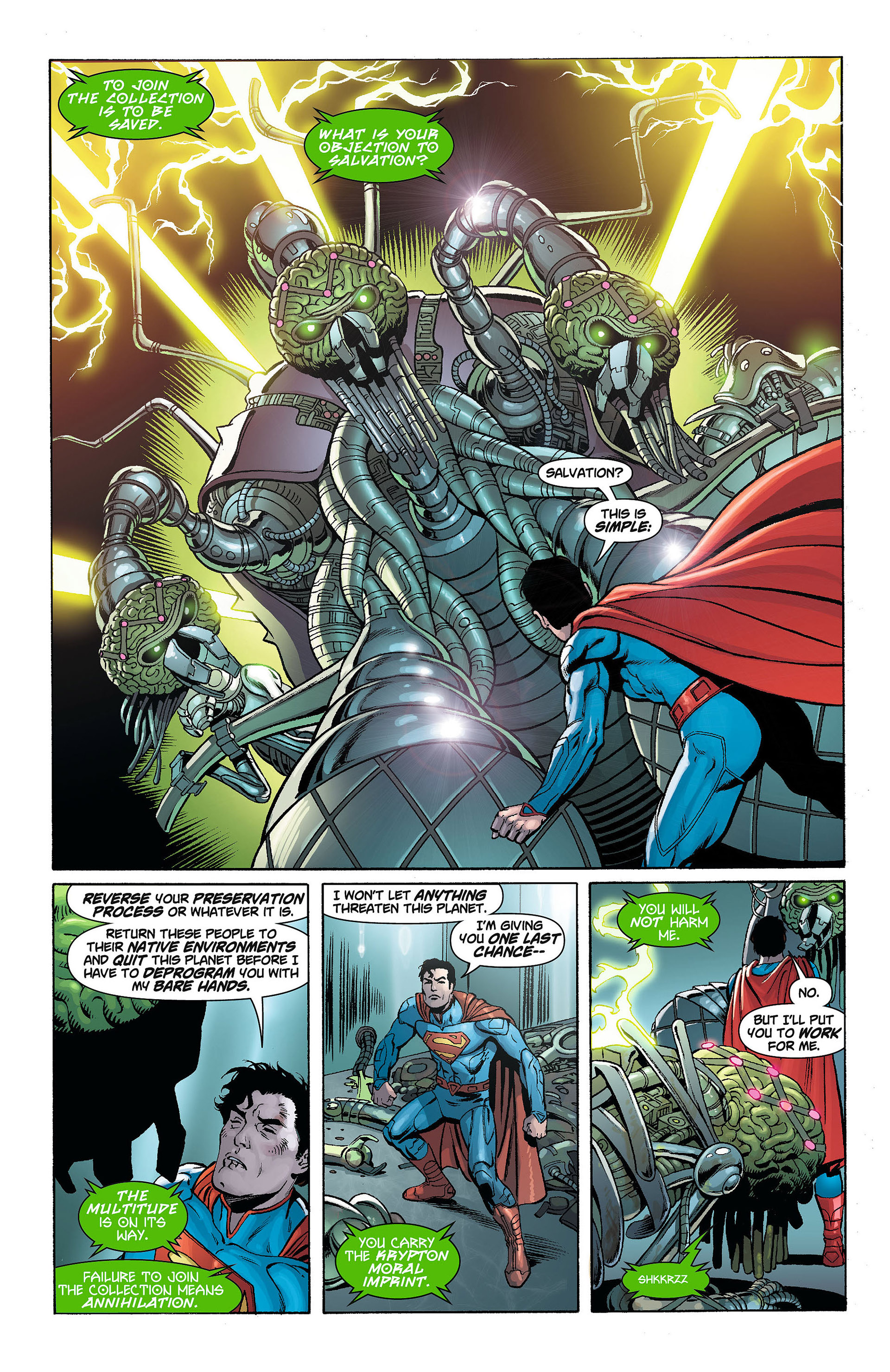 Read online Action Comics (2011) comic -  Issue #8 - 15